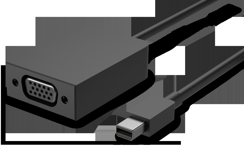 Bild Surface Mini-DisplayPort-zu-VGA-Adapter