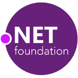 Logo of the .NET Foundation.