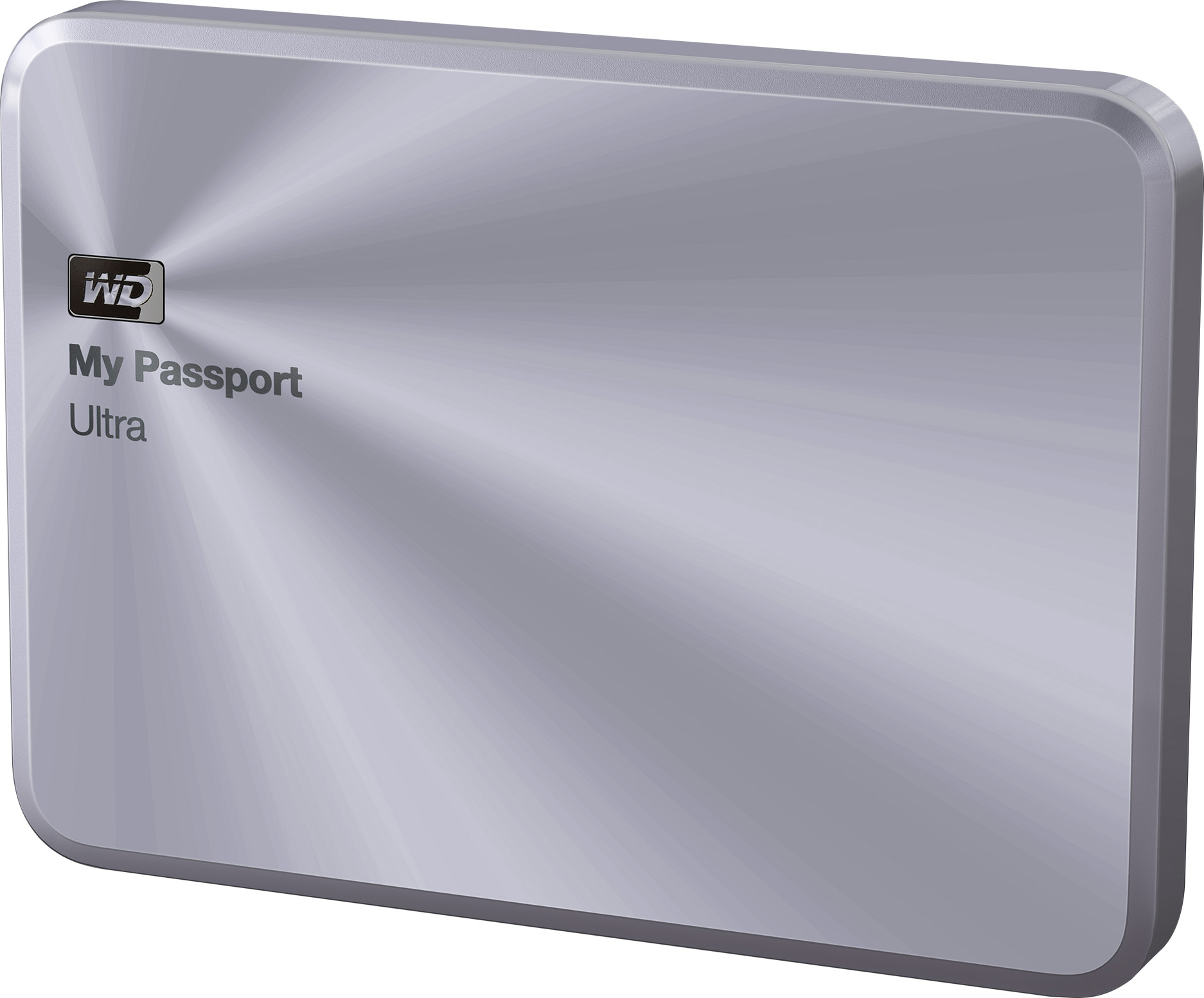 My Passport Ultra Metal Edition 1TB Portable Hard Drive (Silver)
