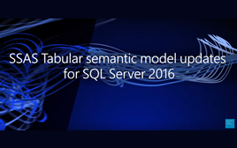 Actualizaciones de Analysis Services para SQL Server 2016