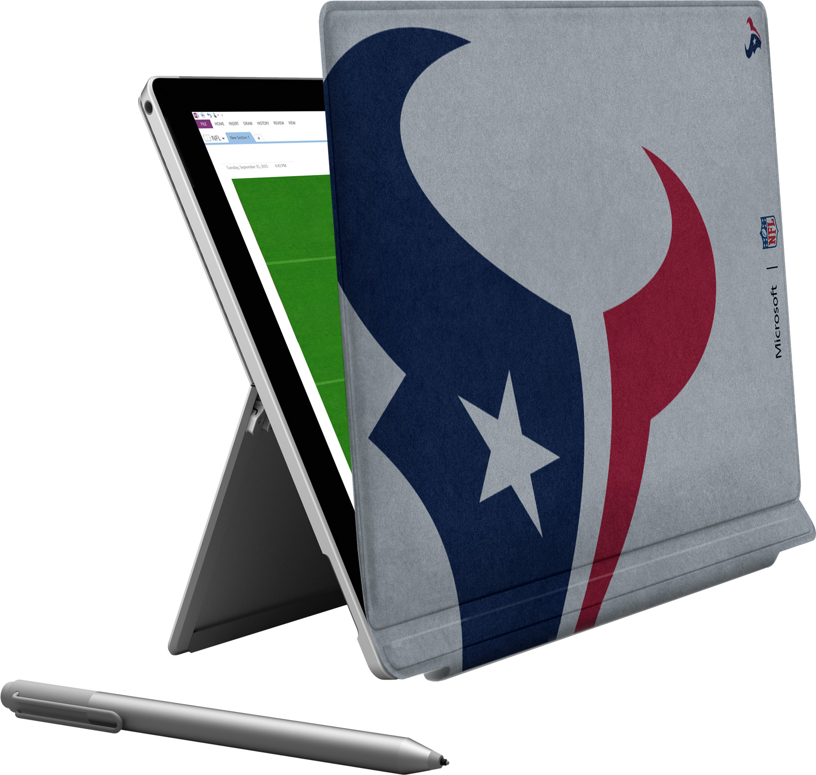 Microsoft Surface Pro 4 Houston Texans Type Cover