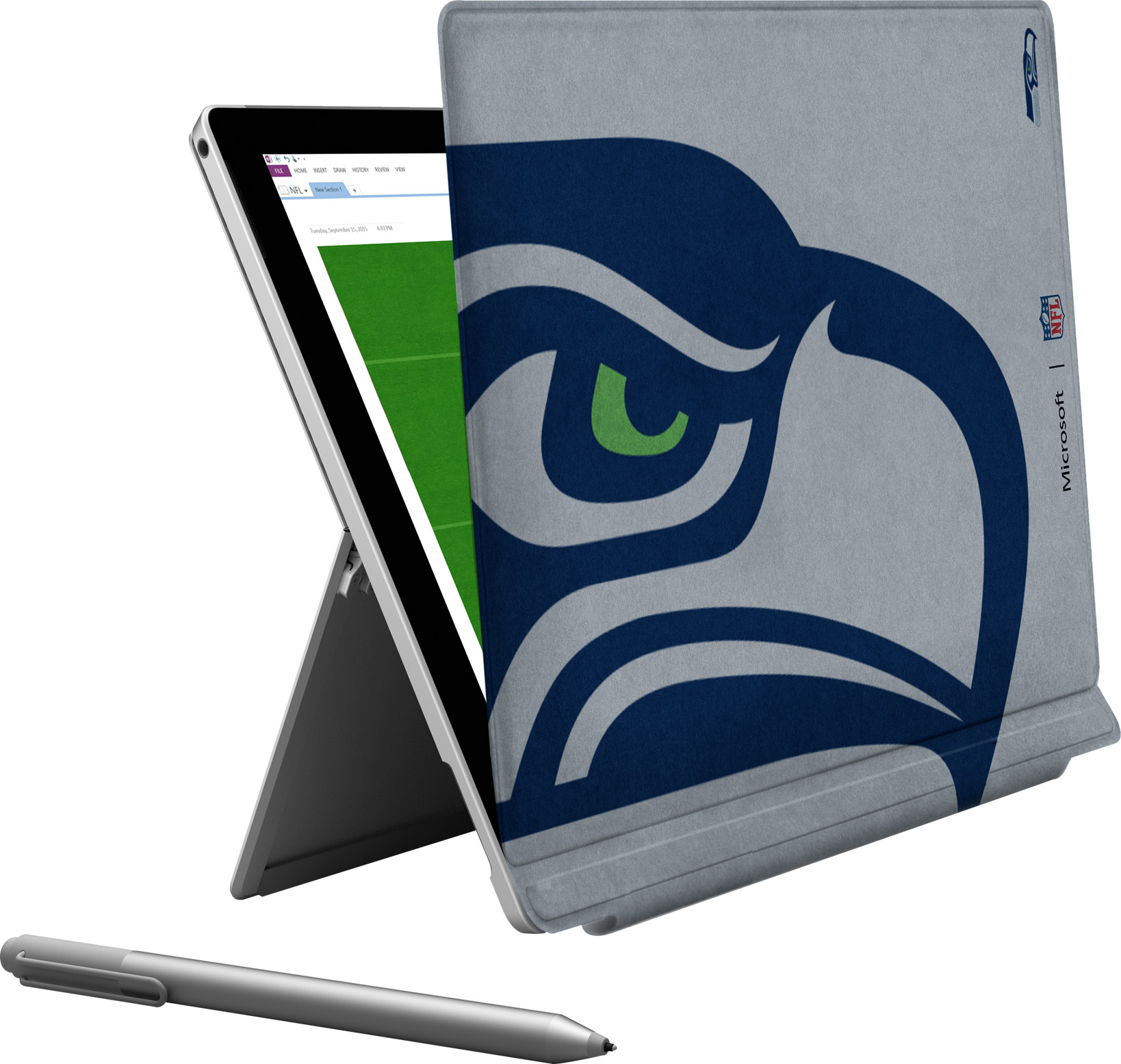 Microsoft Surface Pro 4 Seattle Seahawks Type Cover