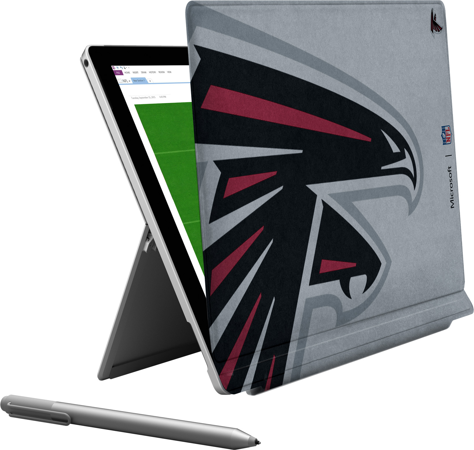 Microsoft Surface Pro 4 Atlanta Falcons Type Cover