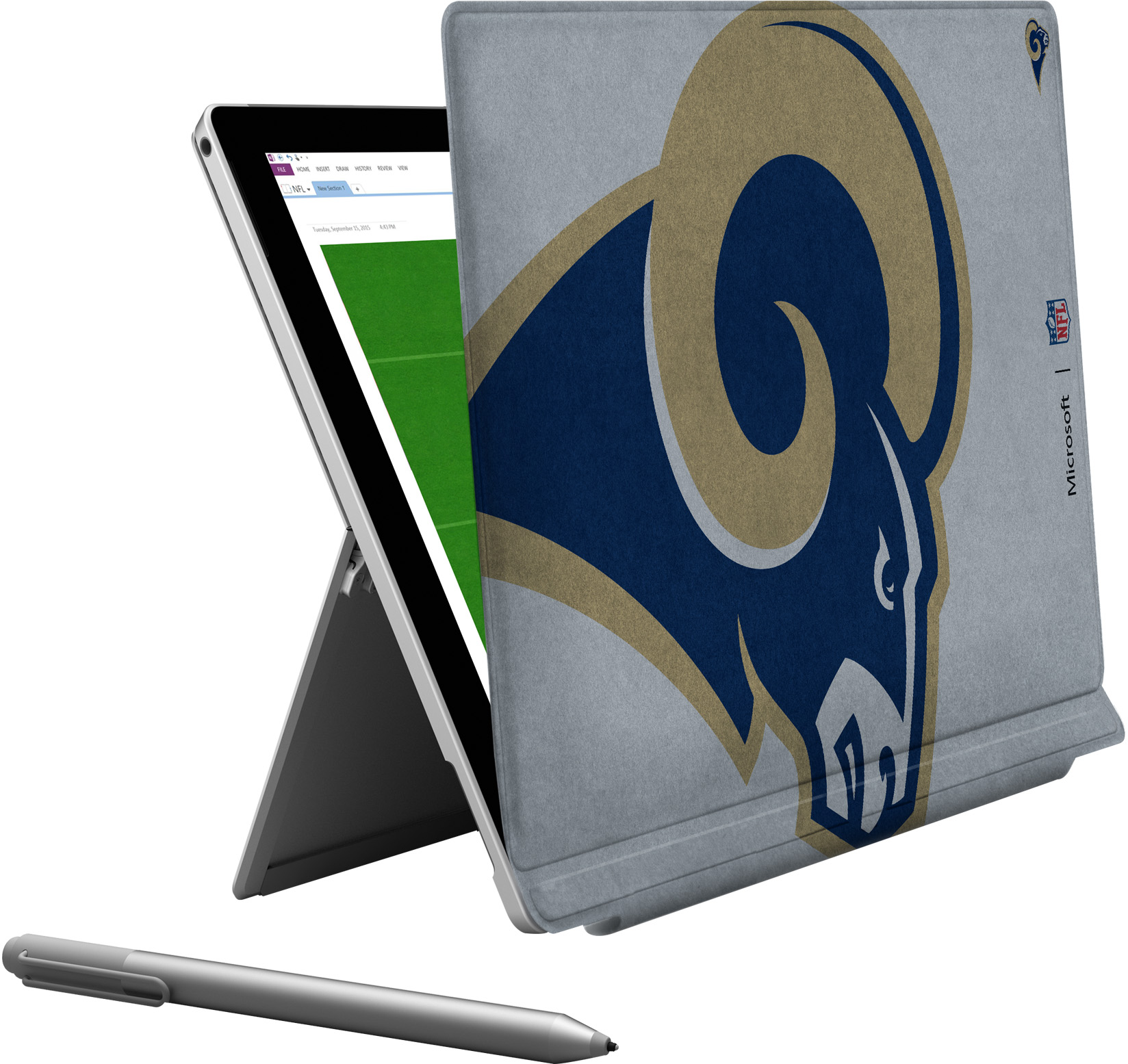 Microsoft Surface Pro 4 Los Angeles Rams Type Cover
