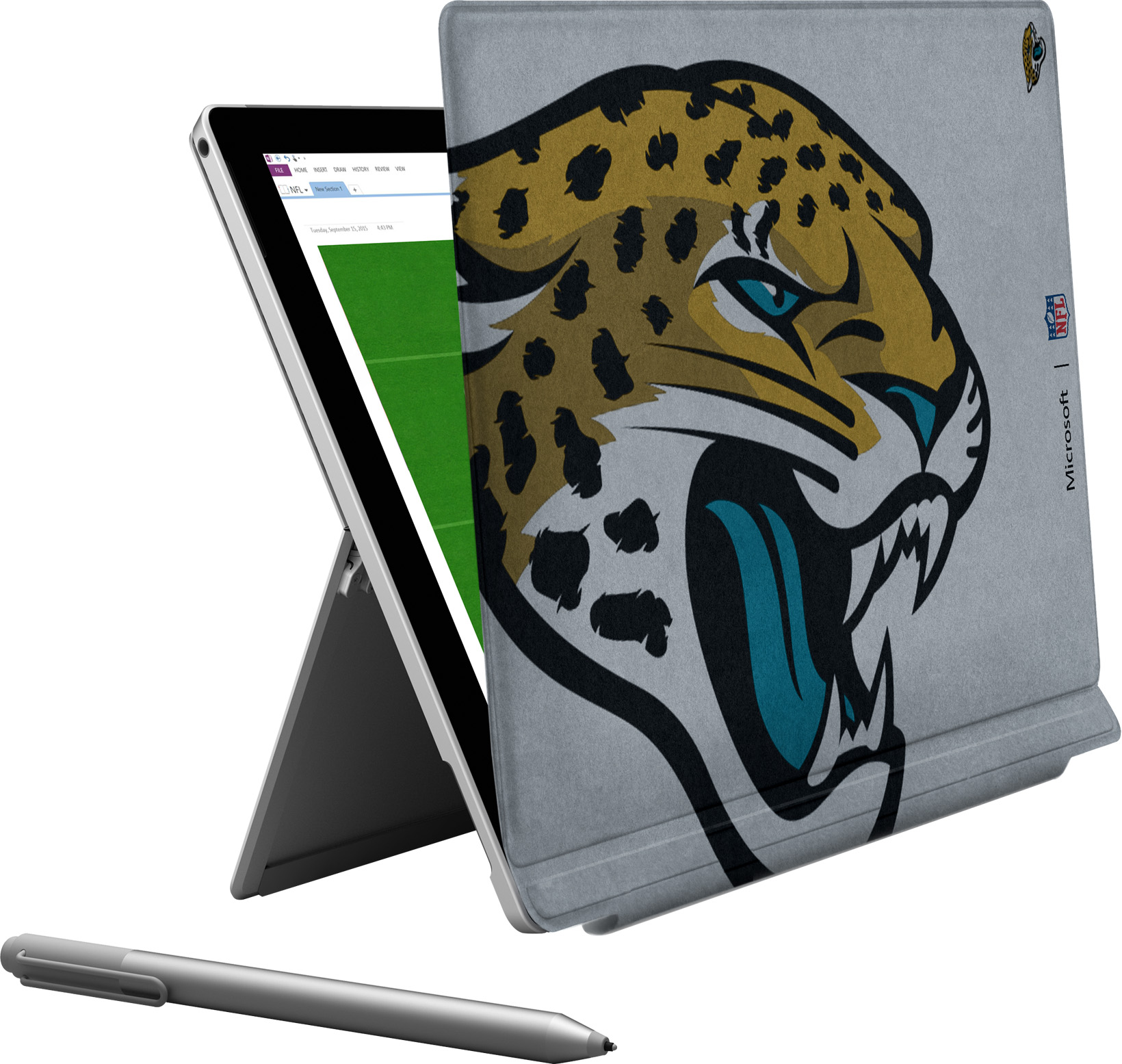 Microsoft Surface Pro 4 Jacksonville Jaguars Type Cover