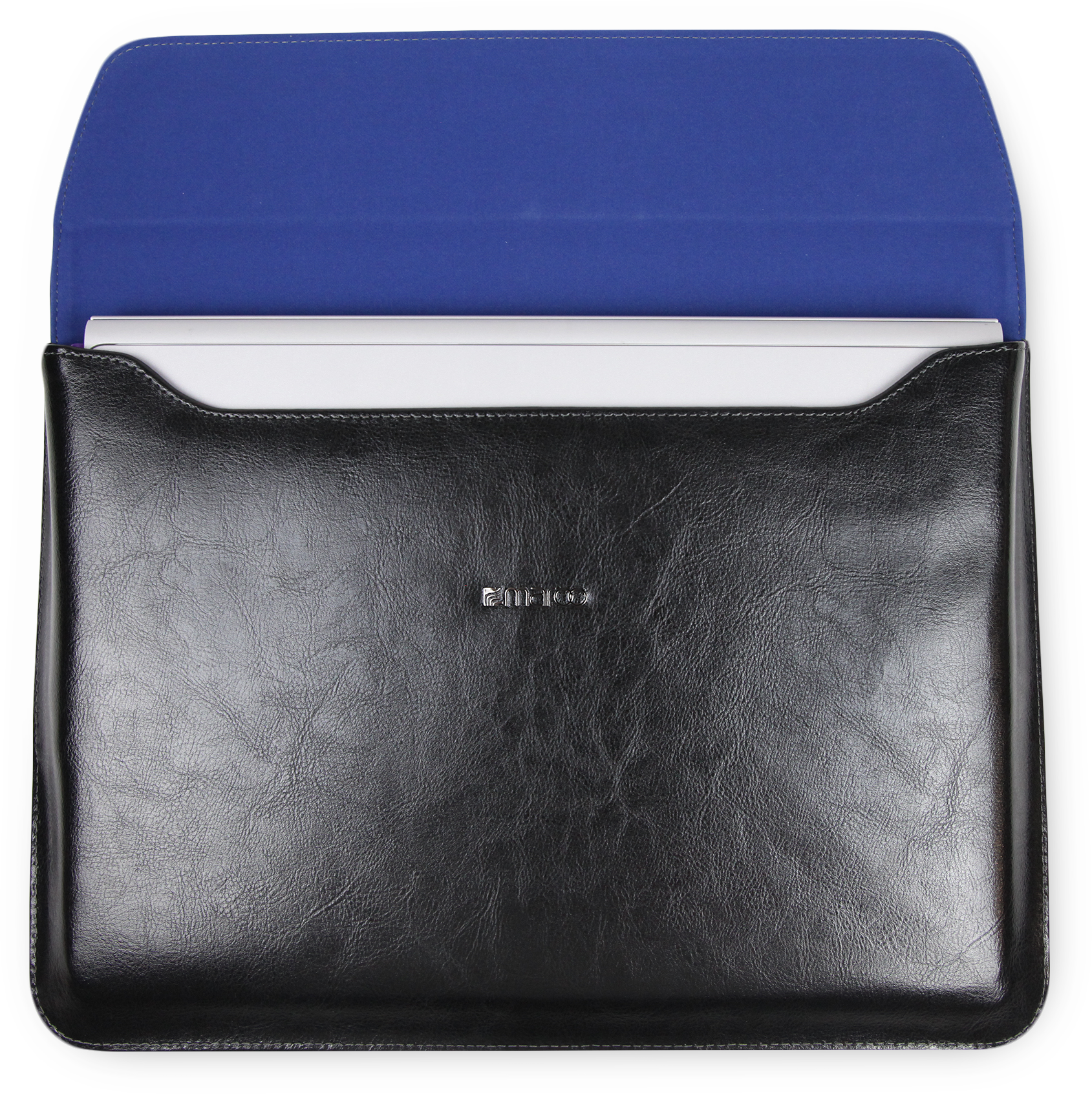 Maroo Black Leather Sleeve for Surface Book