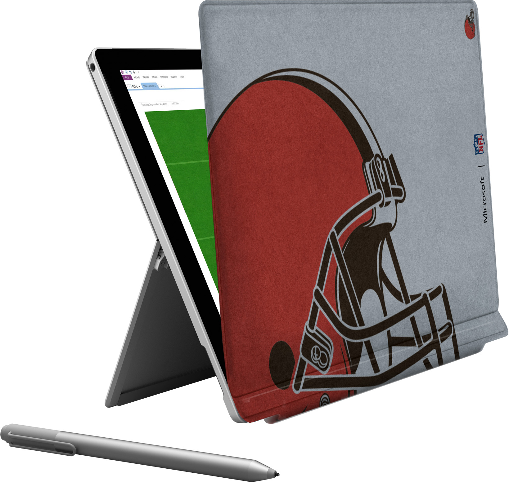Microsoft Surface Pro 4 Cleveland Browns Type Cover