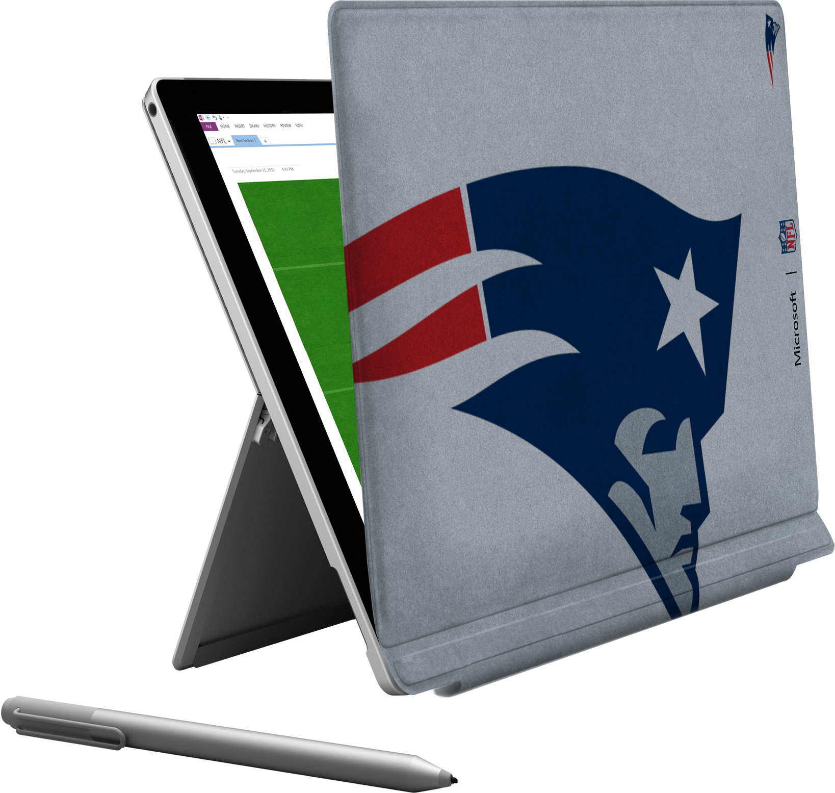 Microsoft Surface Pro 4 New England Patriots Type Cover