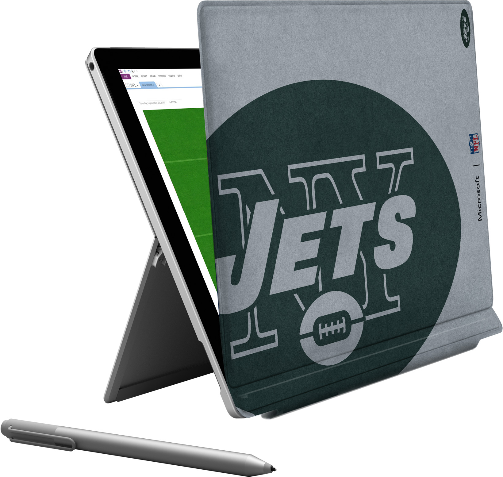 Microsoft Surface Pro 4 New York Jets Type Cover