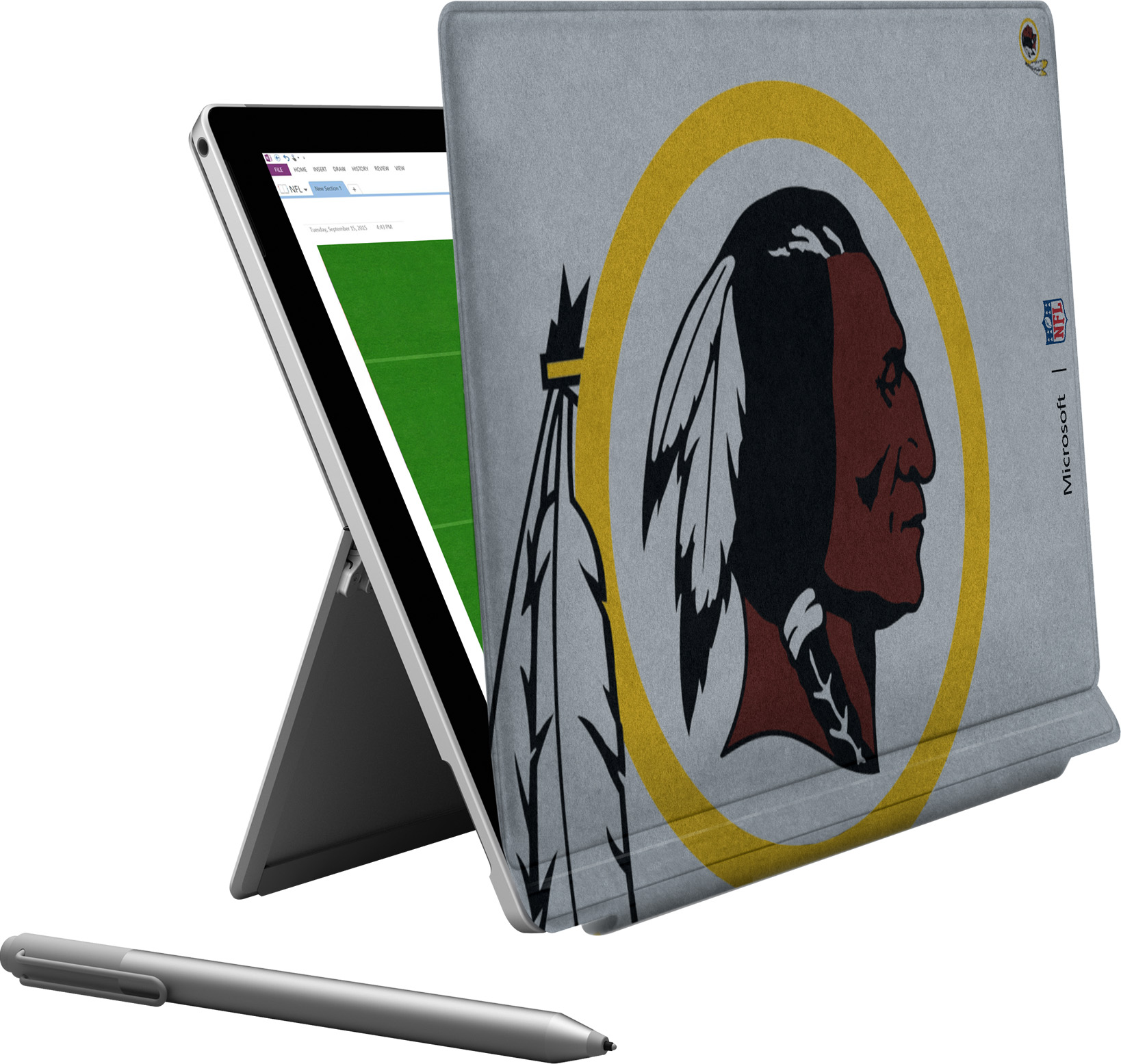 Microsoft Surface Pro 4 Washington Redskins Type Cover