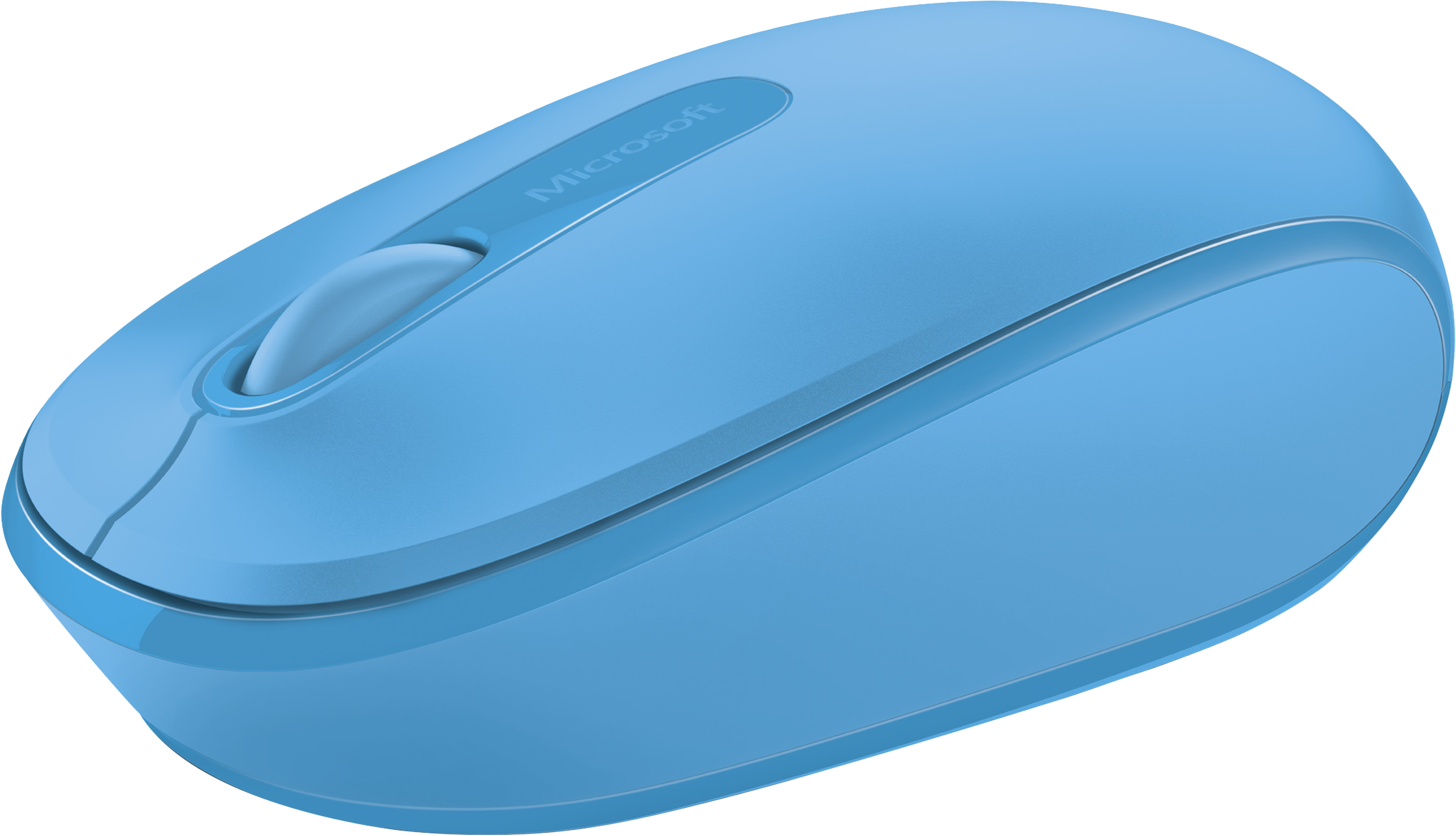 Microsoft Wireless Mobile Mouse 1850 (Cyan Blue)