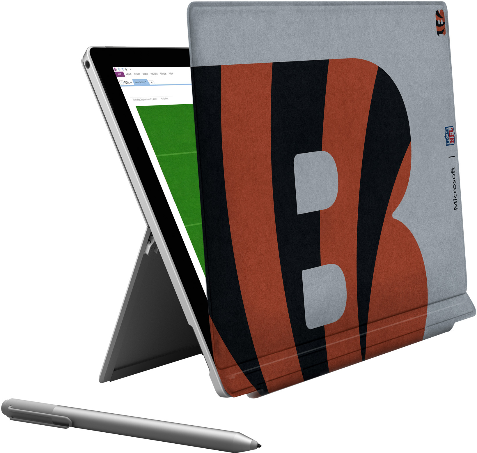 Microsoft Surface Pro 4 Cincinnati Bengals Type Cover