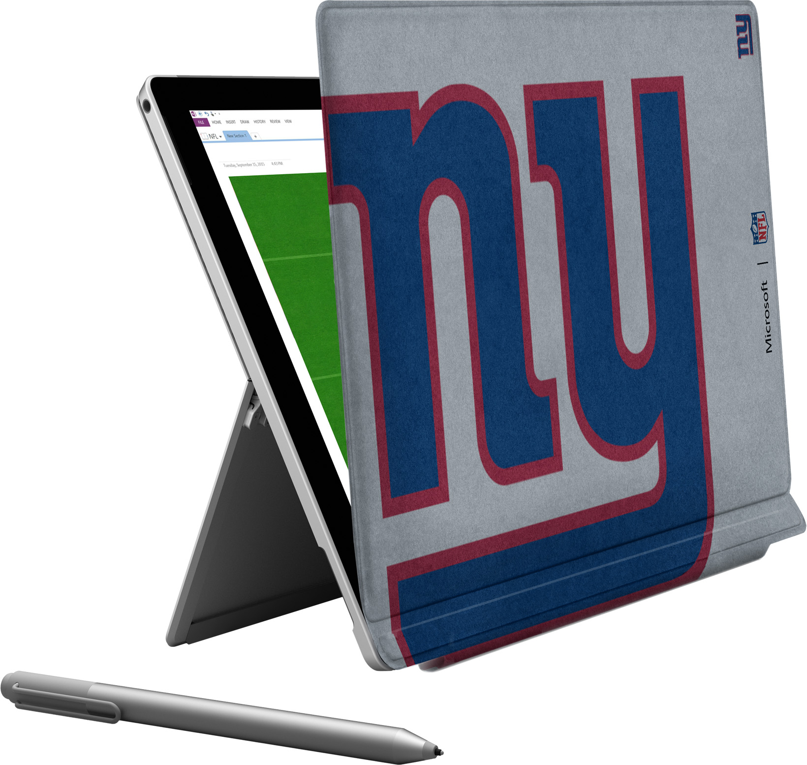 Microsoft Surface Pro 4 New York Giants Type Cover