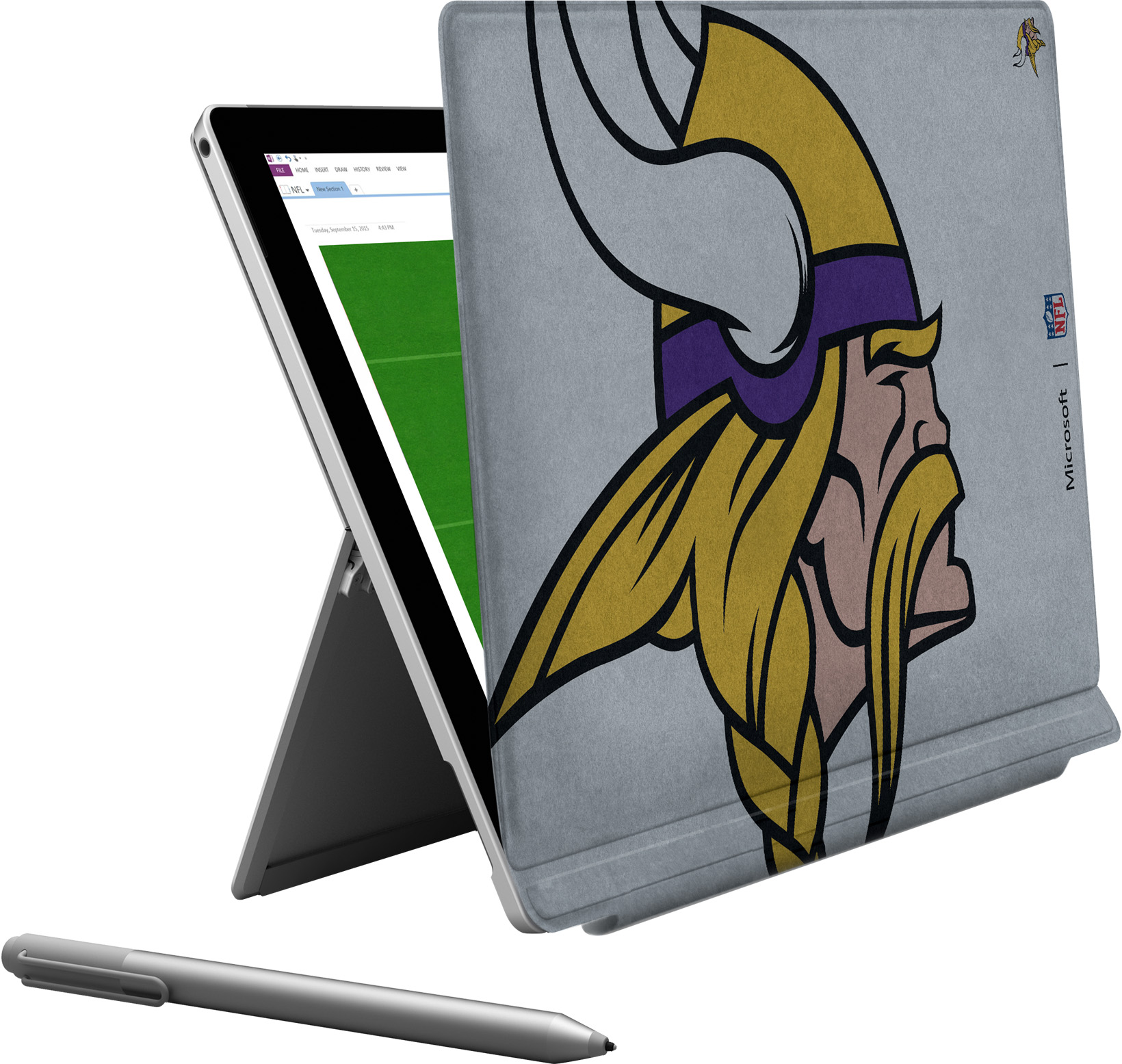 Microsoft Surface Pro 4 Minnesota Vikings Type Cover