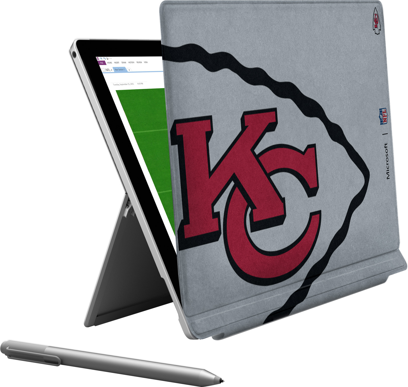 Microsoft Surface Pro 4 Kansas City Chiefs Type Cover