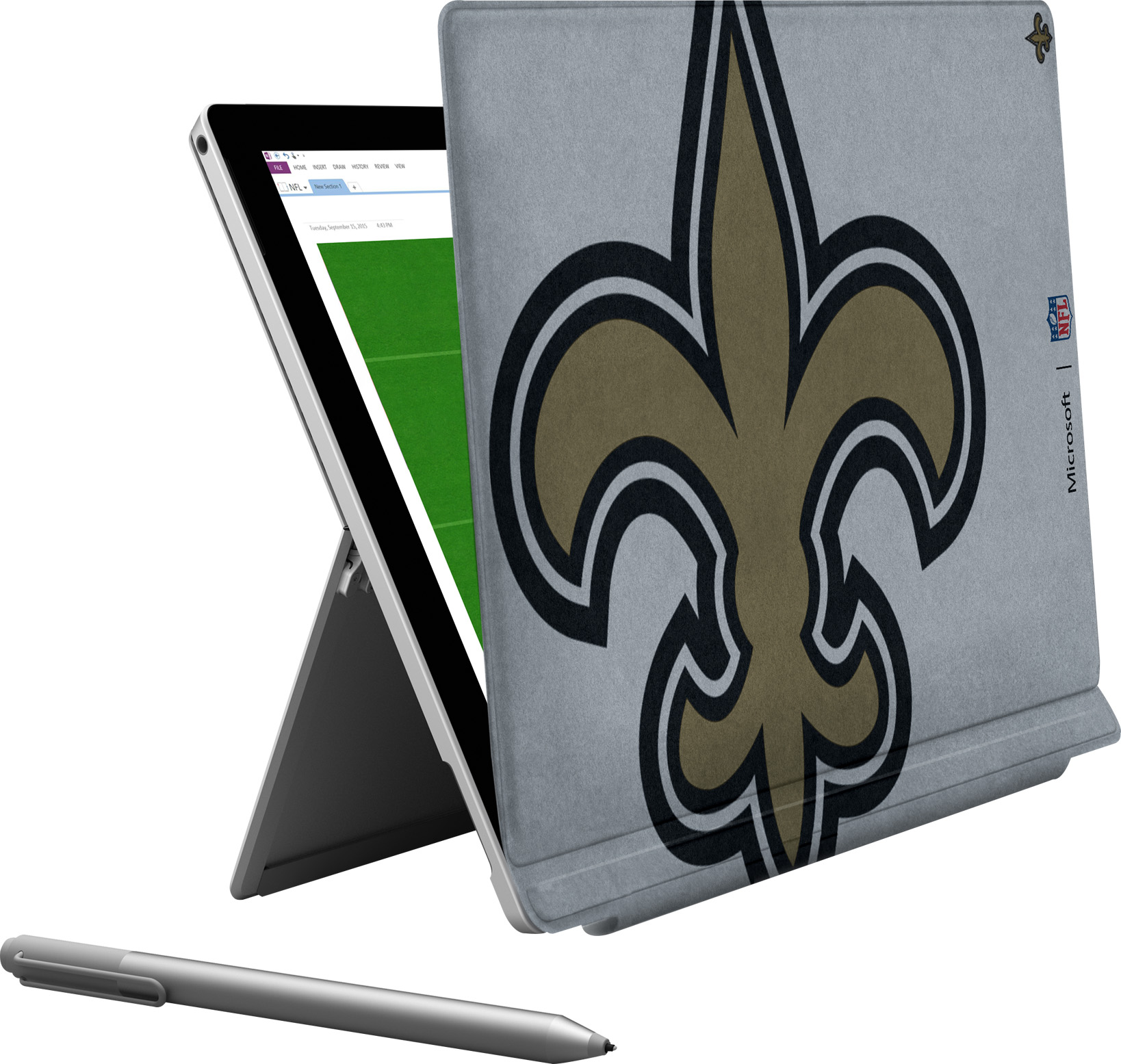 Microsoft Surface Pro 4 New Orleans Saints Type Cover