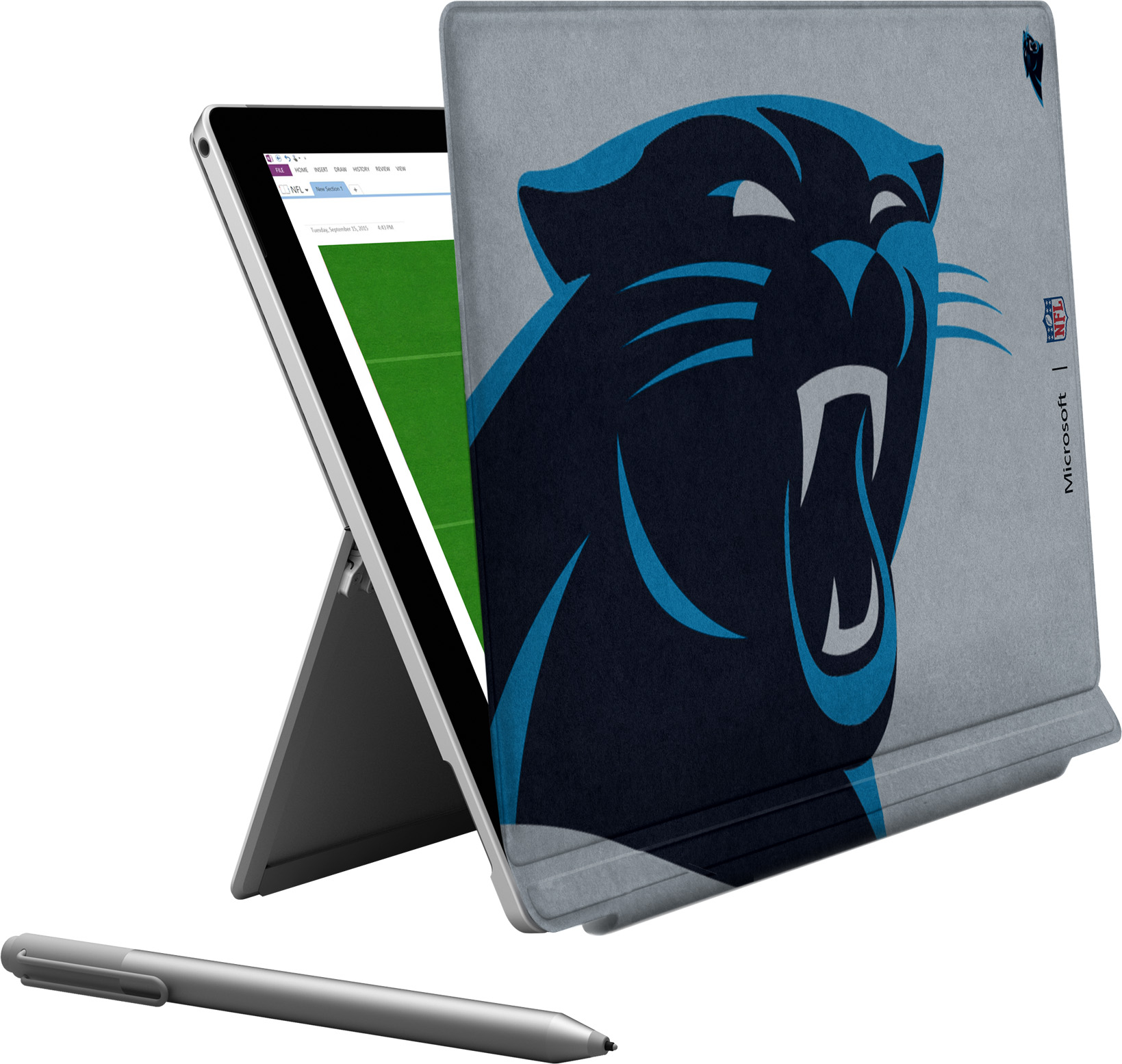 Microsoft Surface Pro 4 Carolina Panthers Type Cover