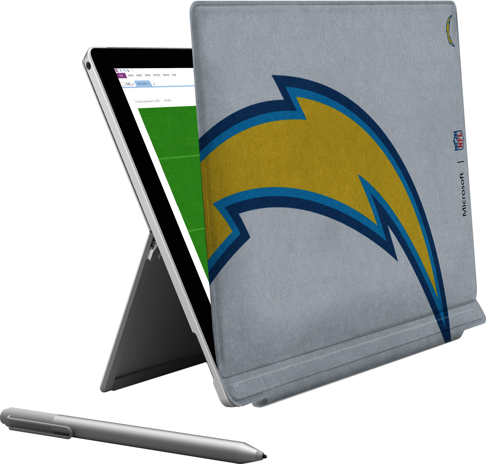 Microsoft Surface Pro 4 San Diego Chargers Type Cover