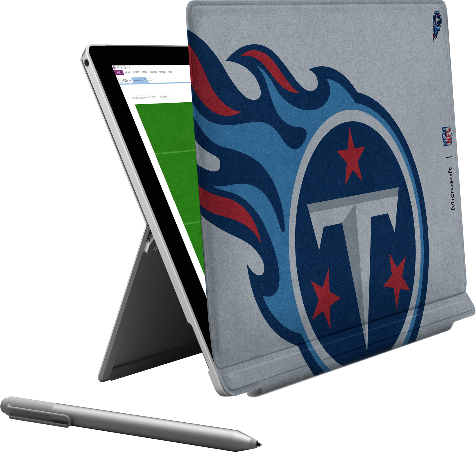 Microsoft Surface Pro 4 Tennessee Titans Type Cover