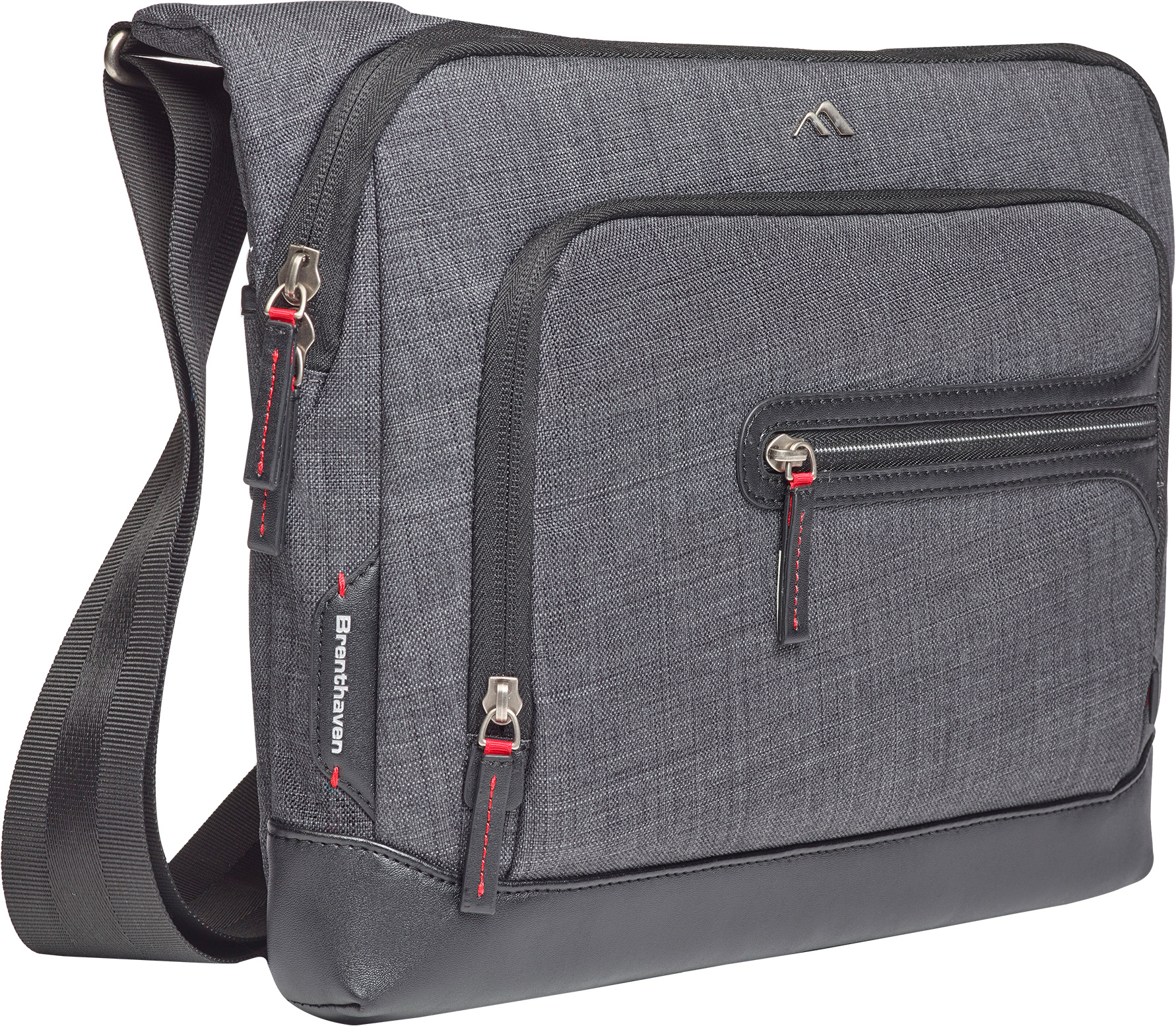 Brenthaven Collins Courier Bag (Graphite)
