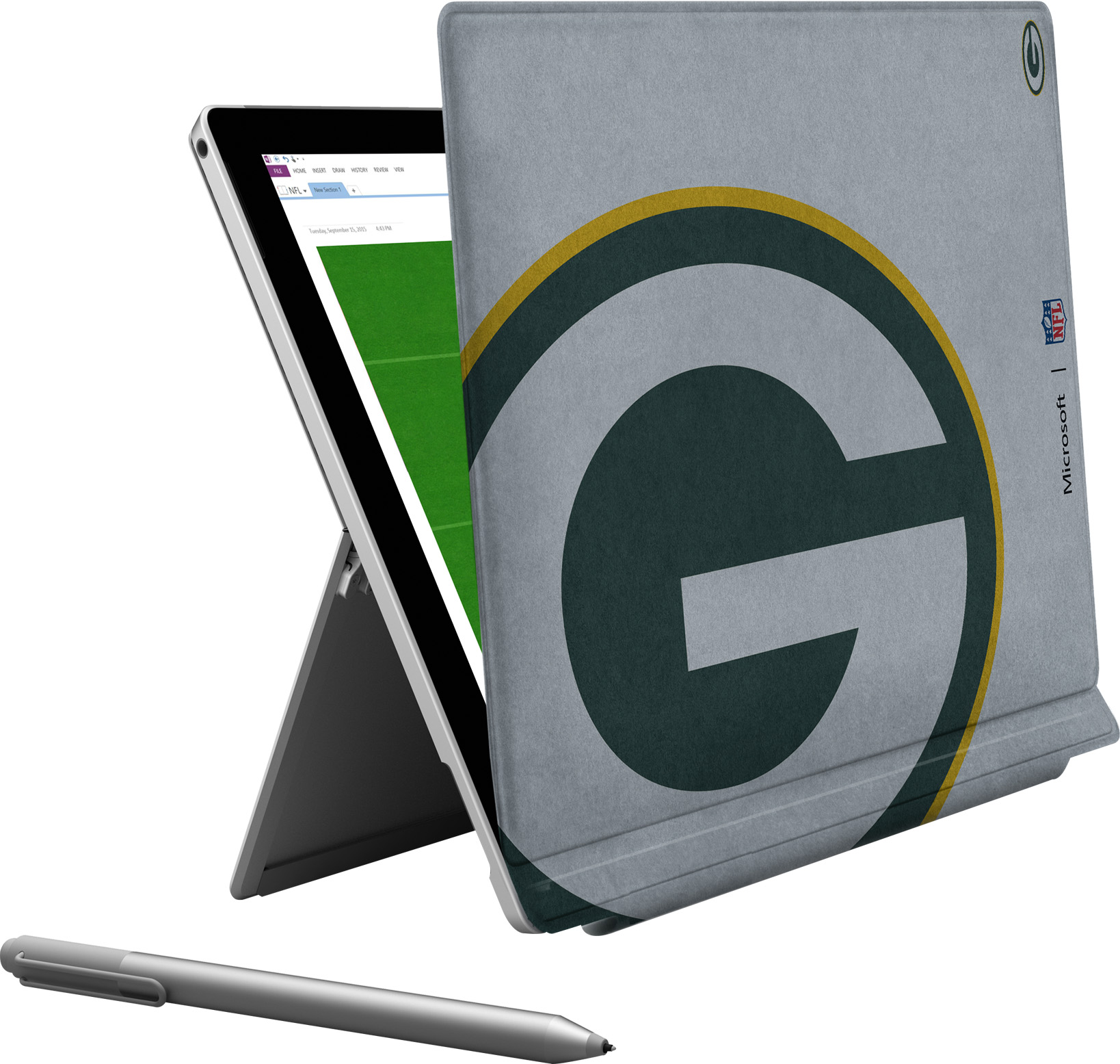 Microsoft Surface Pro 4 Green Bay Packers Type Cover