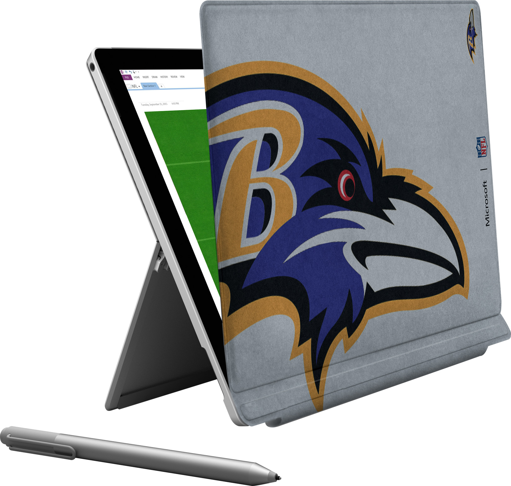 Microsoft Surface Pro 4 Baltimore Ravens Type Cover