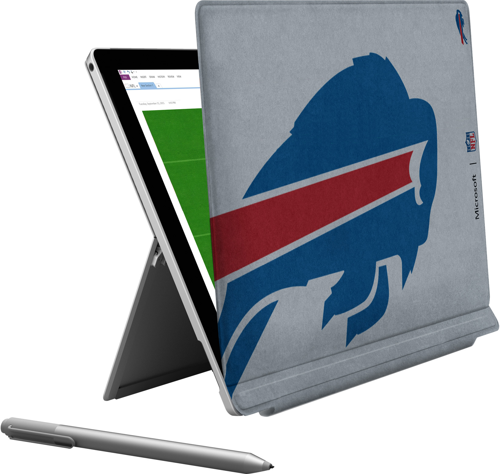 Microsoft Surface Pro 4 Buffalo Bills Type Cover