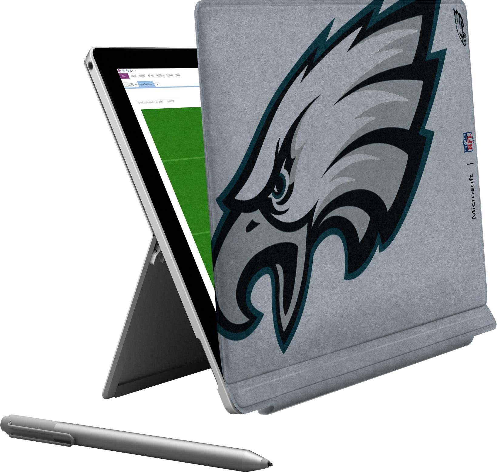 Microsoft Surface Pro 4 Philadelphia Eagles Type Cover