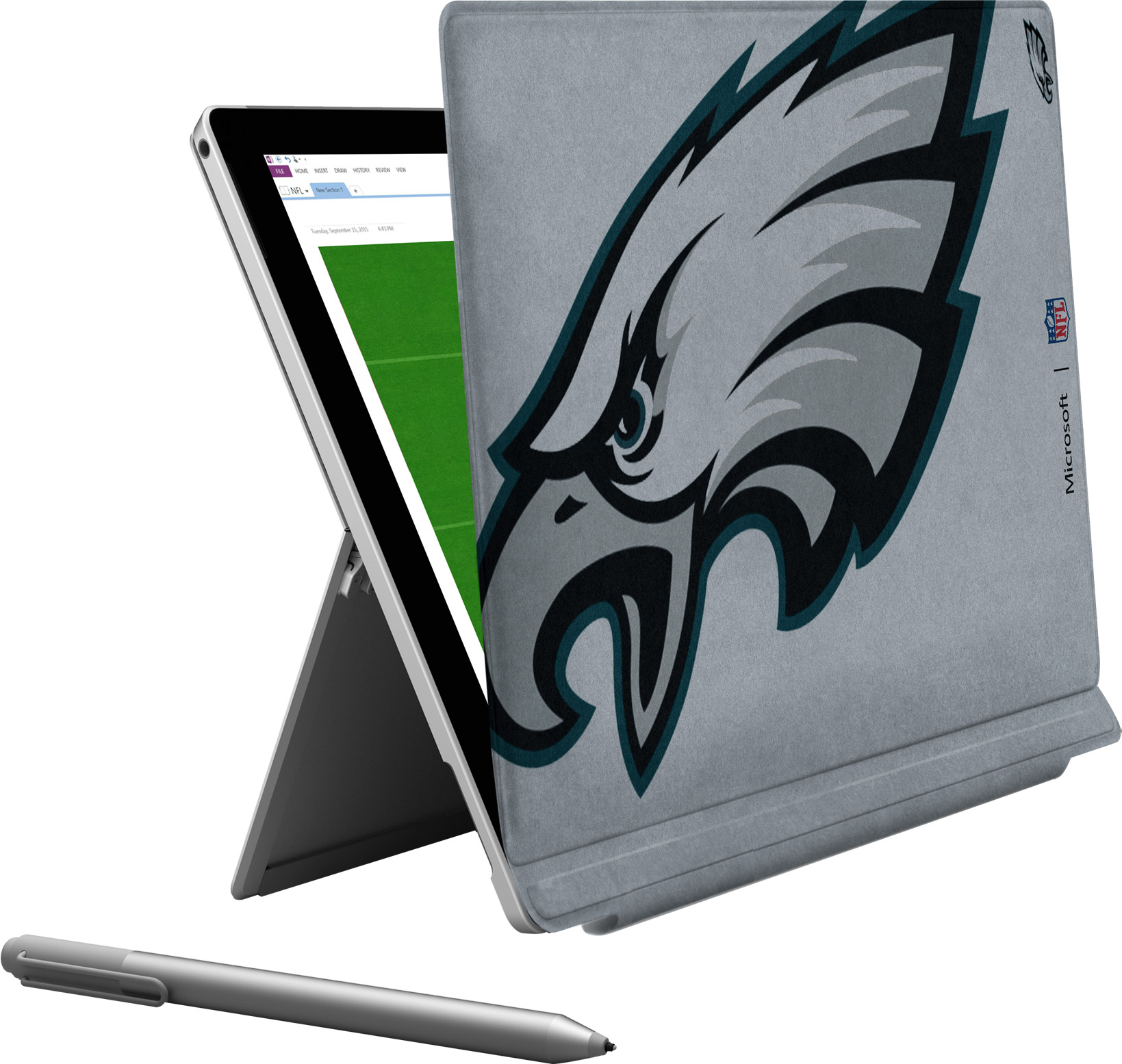 Microsoft Surface Pro 4 Philadelphia Eagles Type Cover