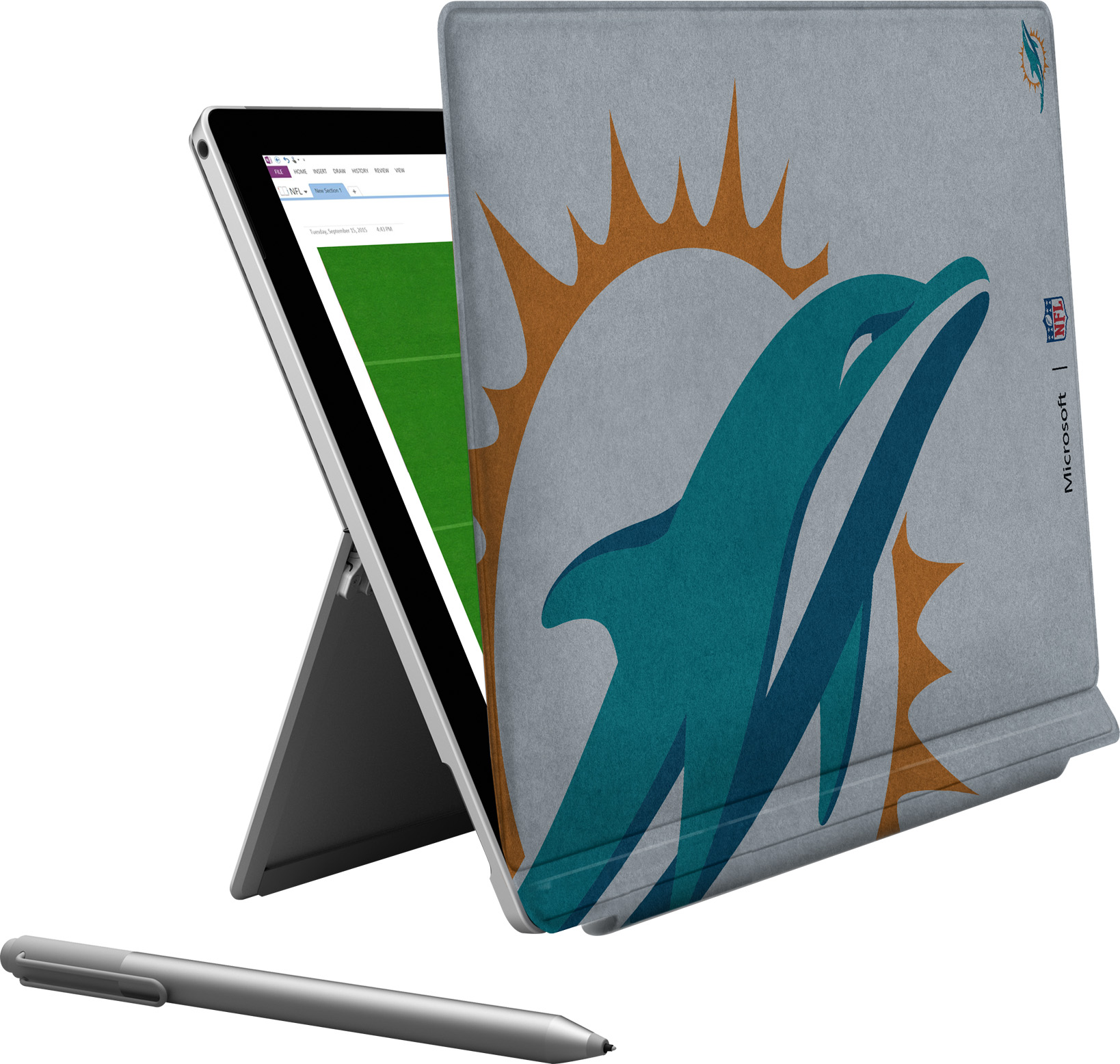 Microsoft Surface Pro 4 Miami Dolphins Type Cover