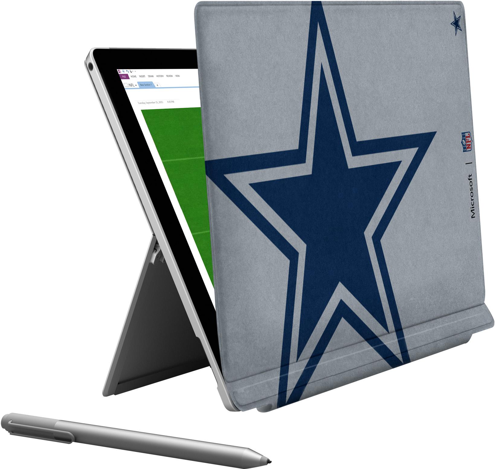 Microsoft Surface Pro 4 Dallas Cowboys Type Cover