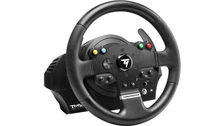buy thrustmaster tmx force feedback racing wheel for xbox. Black Bedroom Furniture Sets. Home Design Ideas