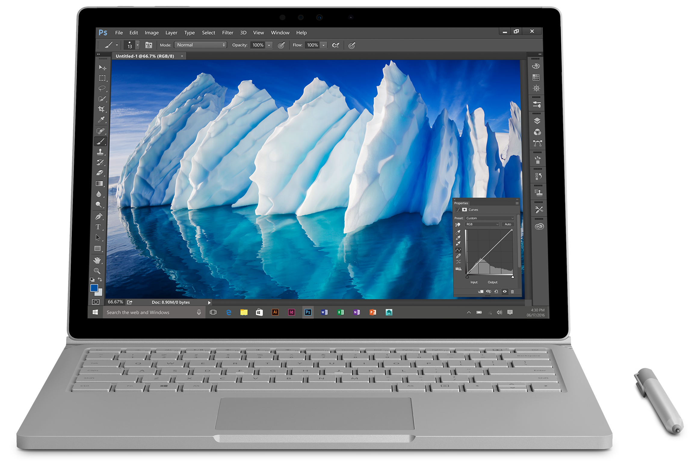 Certified Refurbished Microsoft Surface Book with Performance Base - 256GB / Intel Core i7
