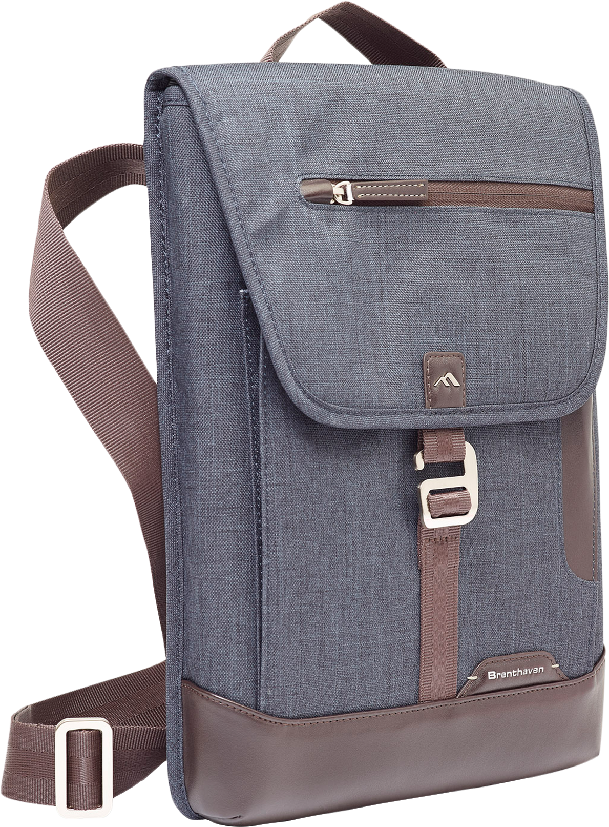 Brenthaven Collins Vertical Messenger Bag for Surface Pro 4