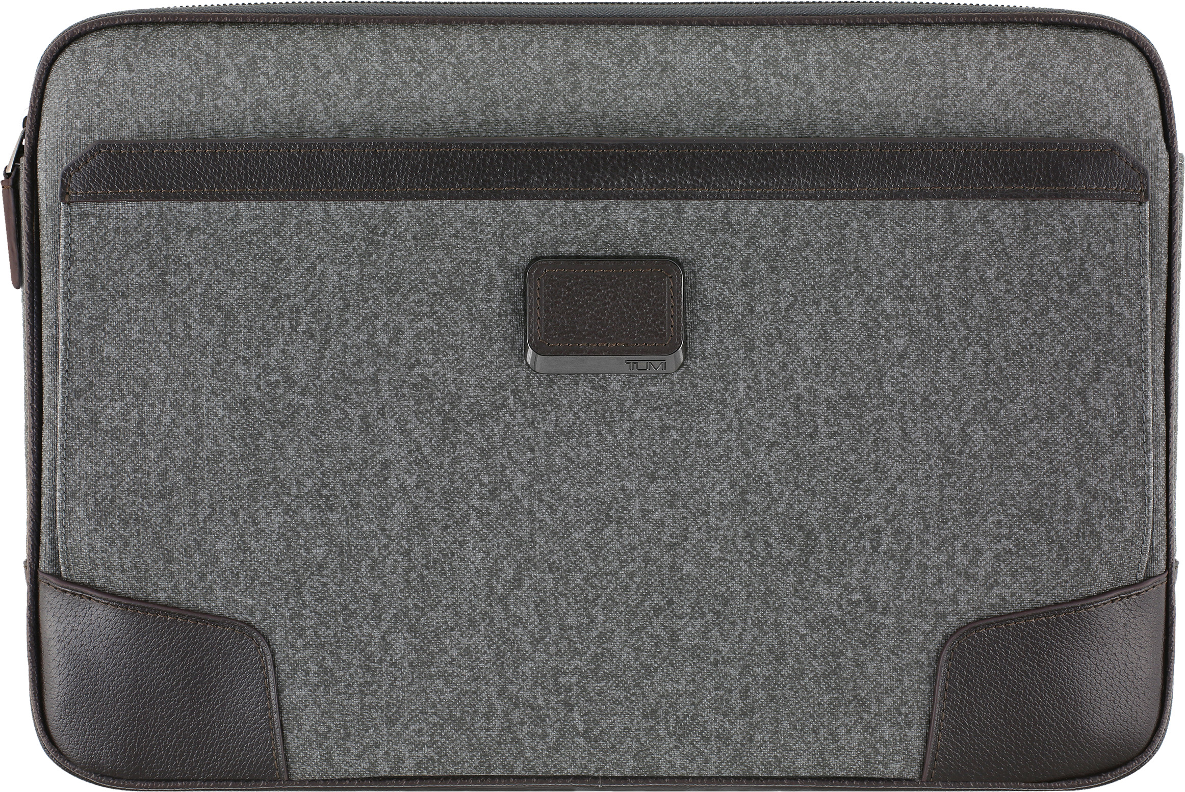 TUMI Coated Canvas Tablet Cover for Surface Book (Gray/Brown)