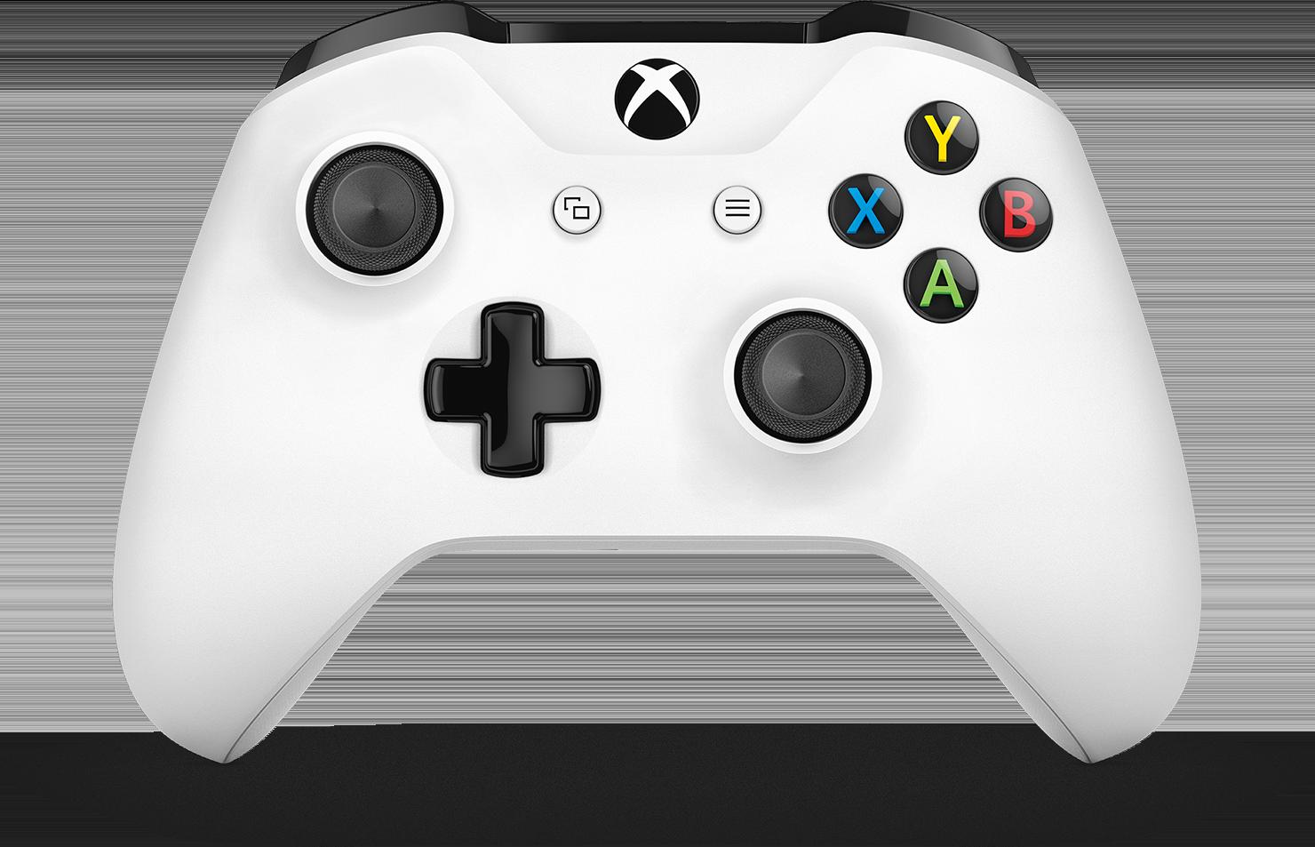 Xbox Wireless Controller Weiß – Vorderansicht