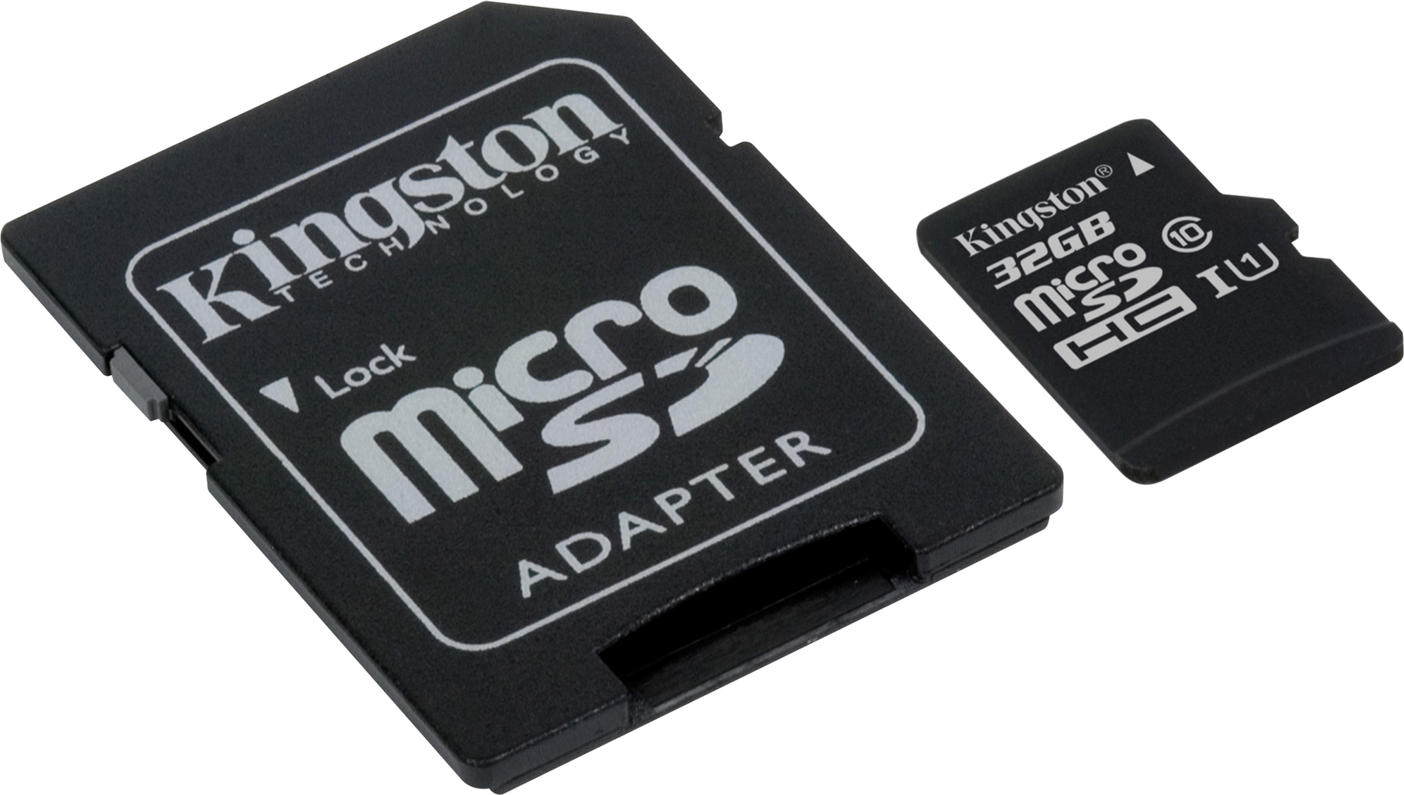Kingston 32GB microSDHC Class 10 + SD Adapter