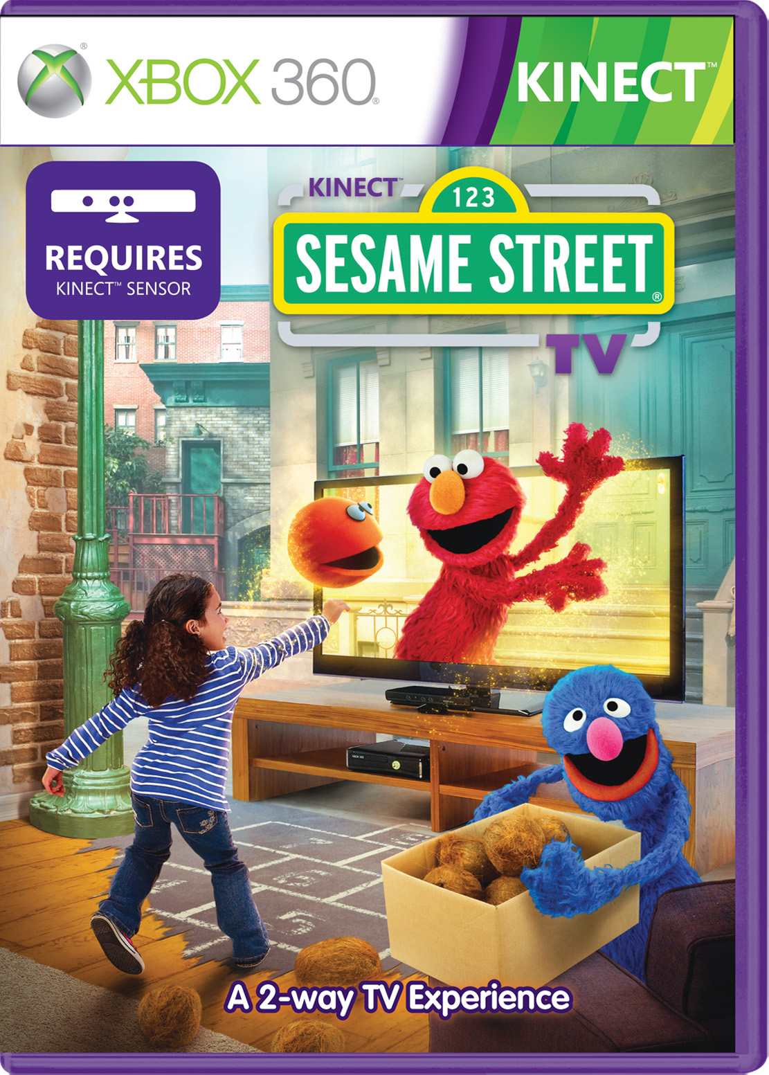 Kinect Sesame Street TV Xbox 360 Game for Kinect