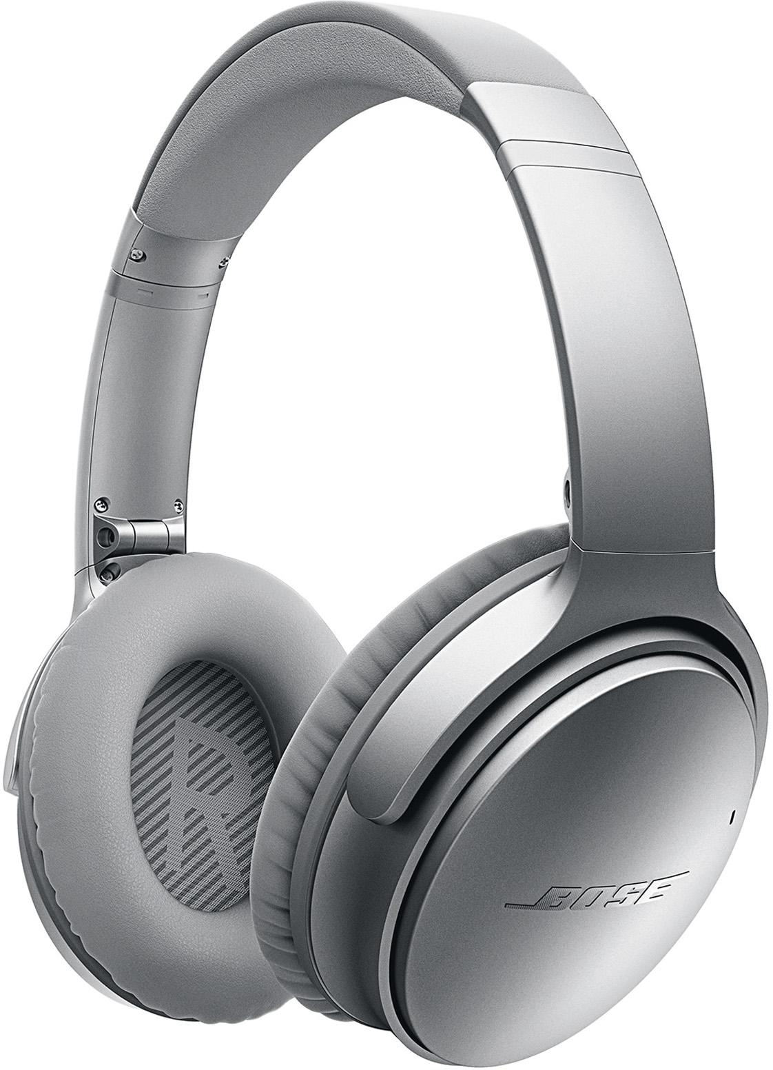 Bose QuietComfort 35 Wireless Headphones (Silver)