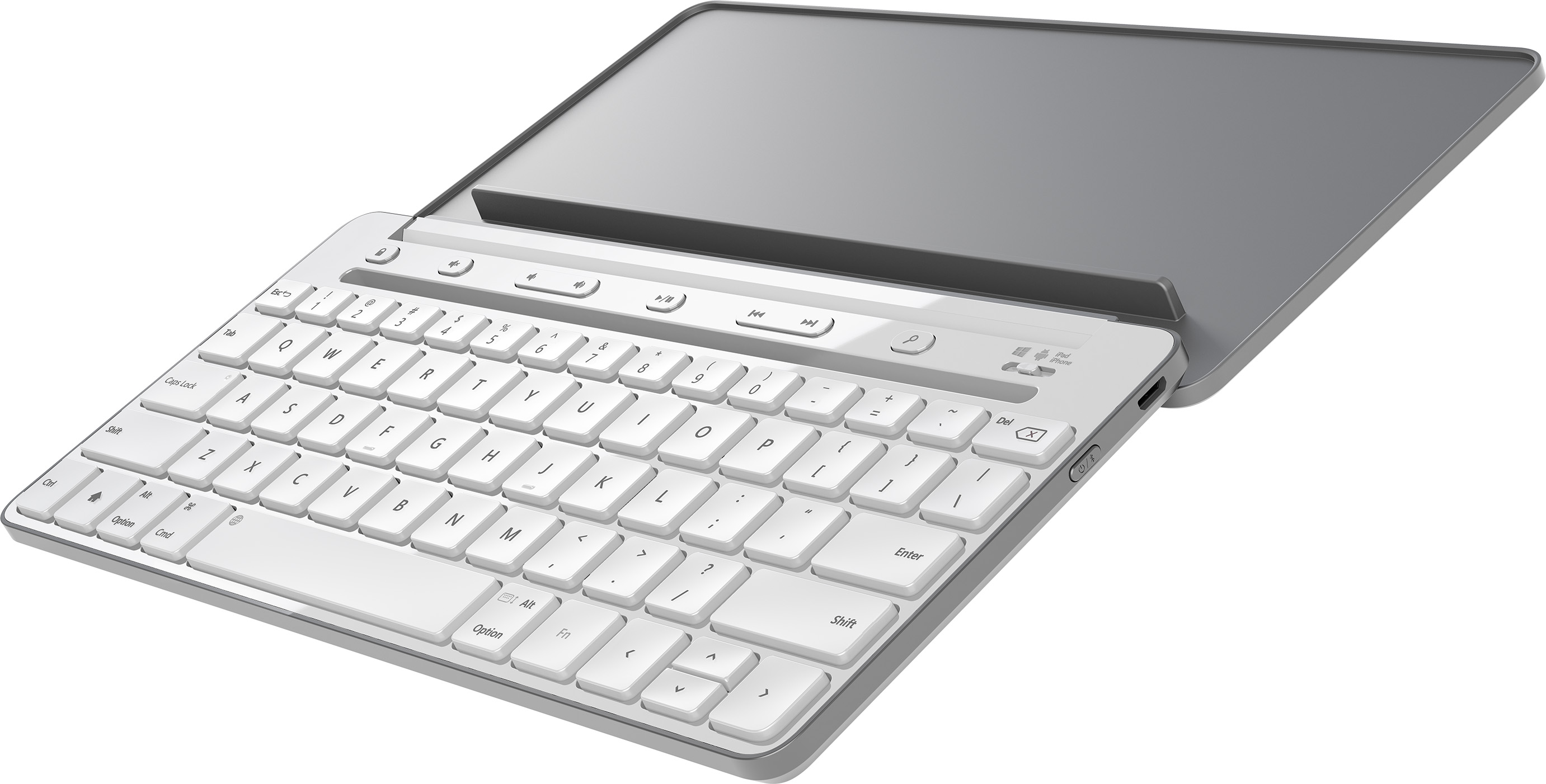 Universal Mobile Keyboard, English (Gray)