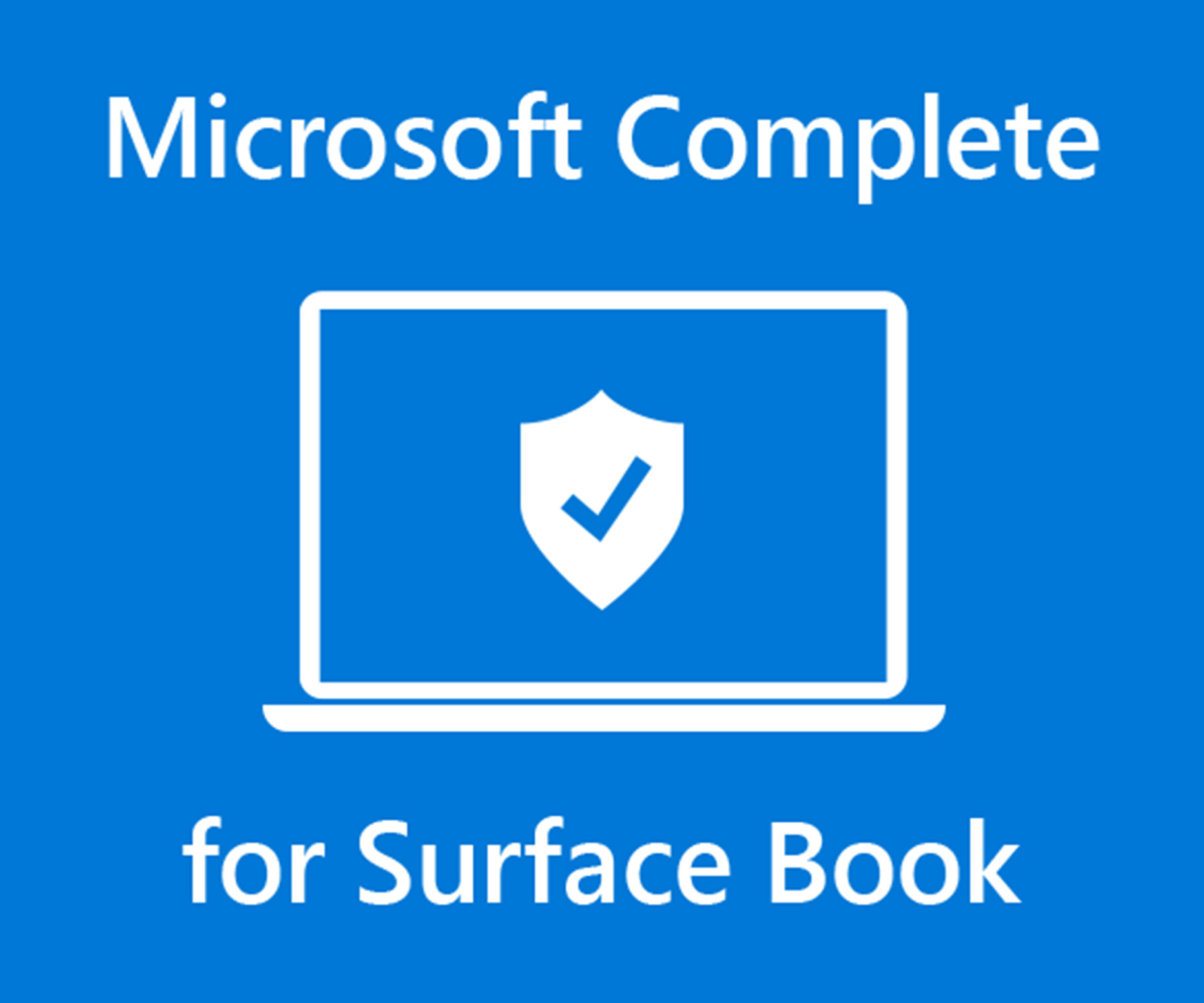 Protection contre les accidents Microsoft Complete pour Surface Book
