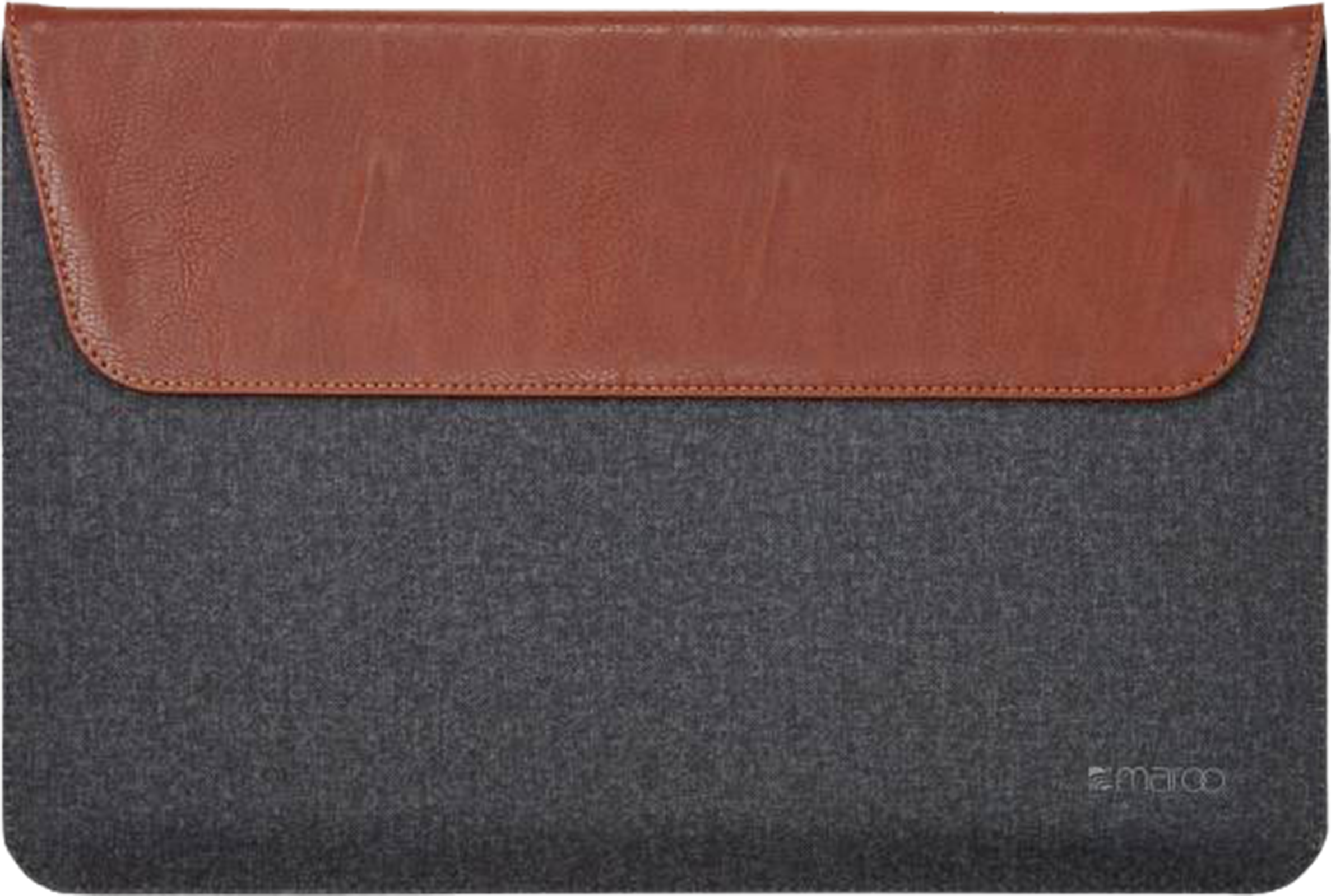 Maroo Synthetic Leather Folio for Surface Pro (Dark Brown)