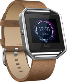 Fitbit Blaze Leather Band (Camel) - Small