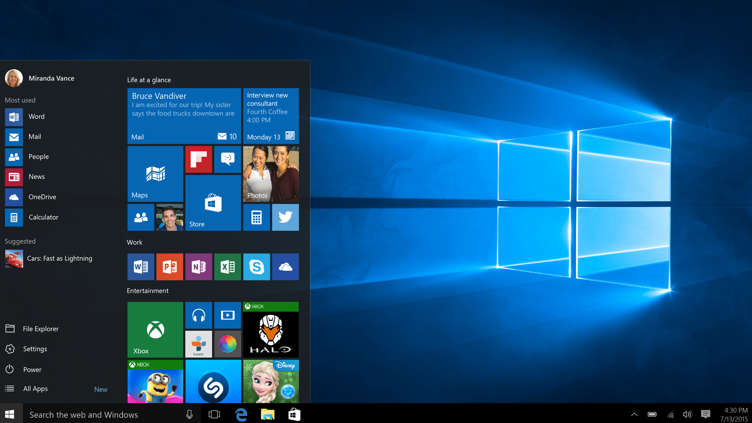 Image result for windows 10 images