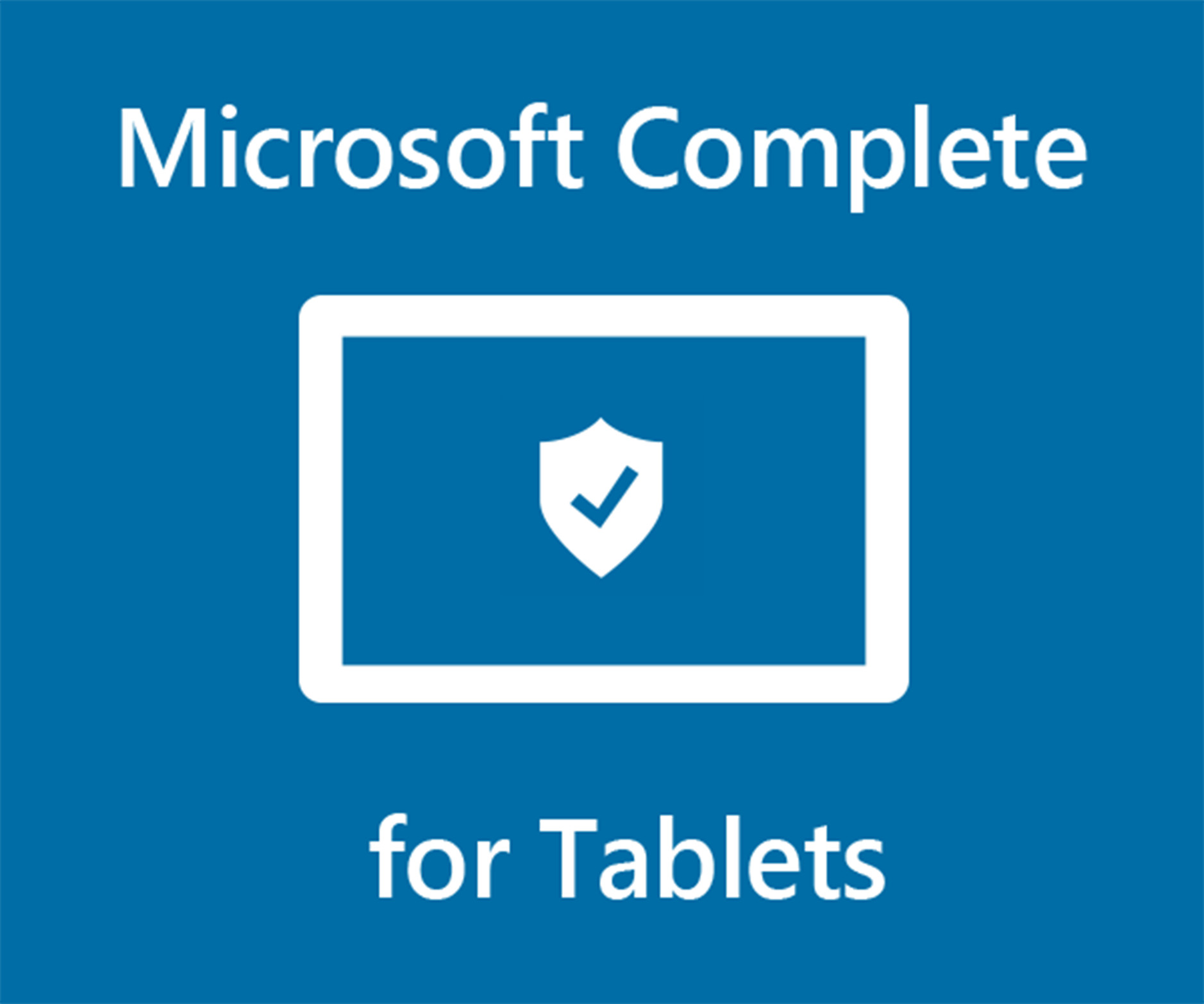 Microsoft Complete for Tablets