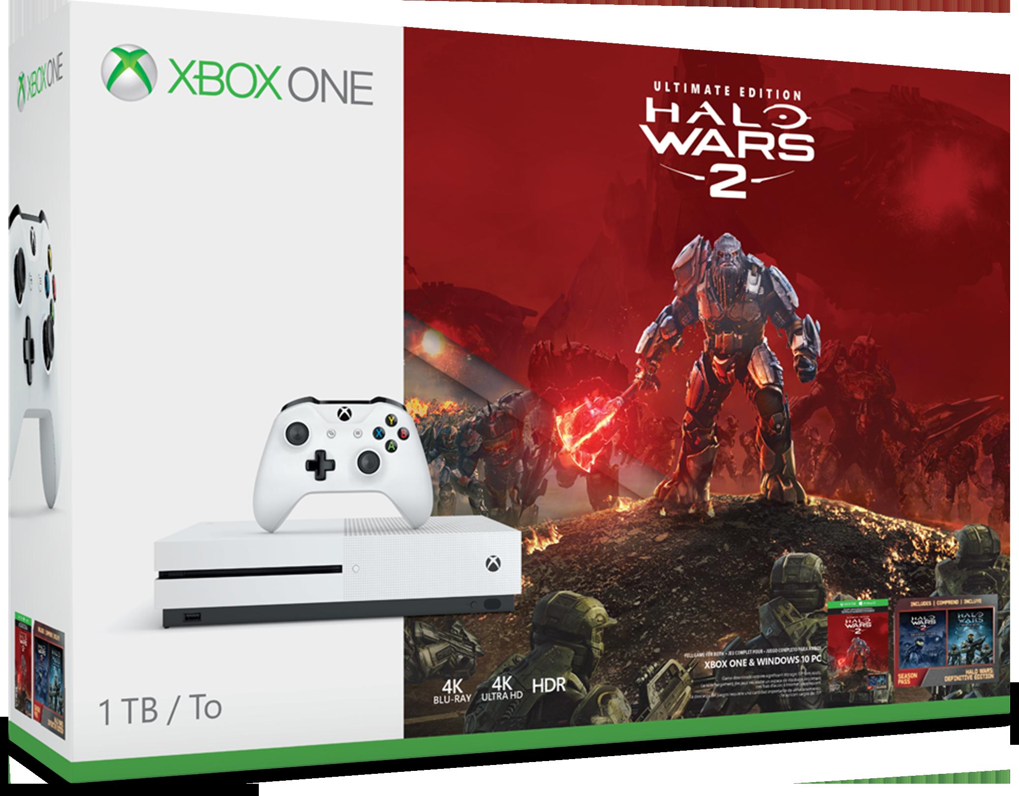 Pack de Consola Xbox One S de 1 TB y Halo Wars 2