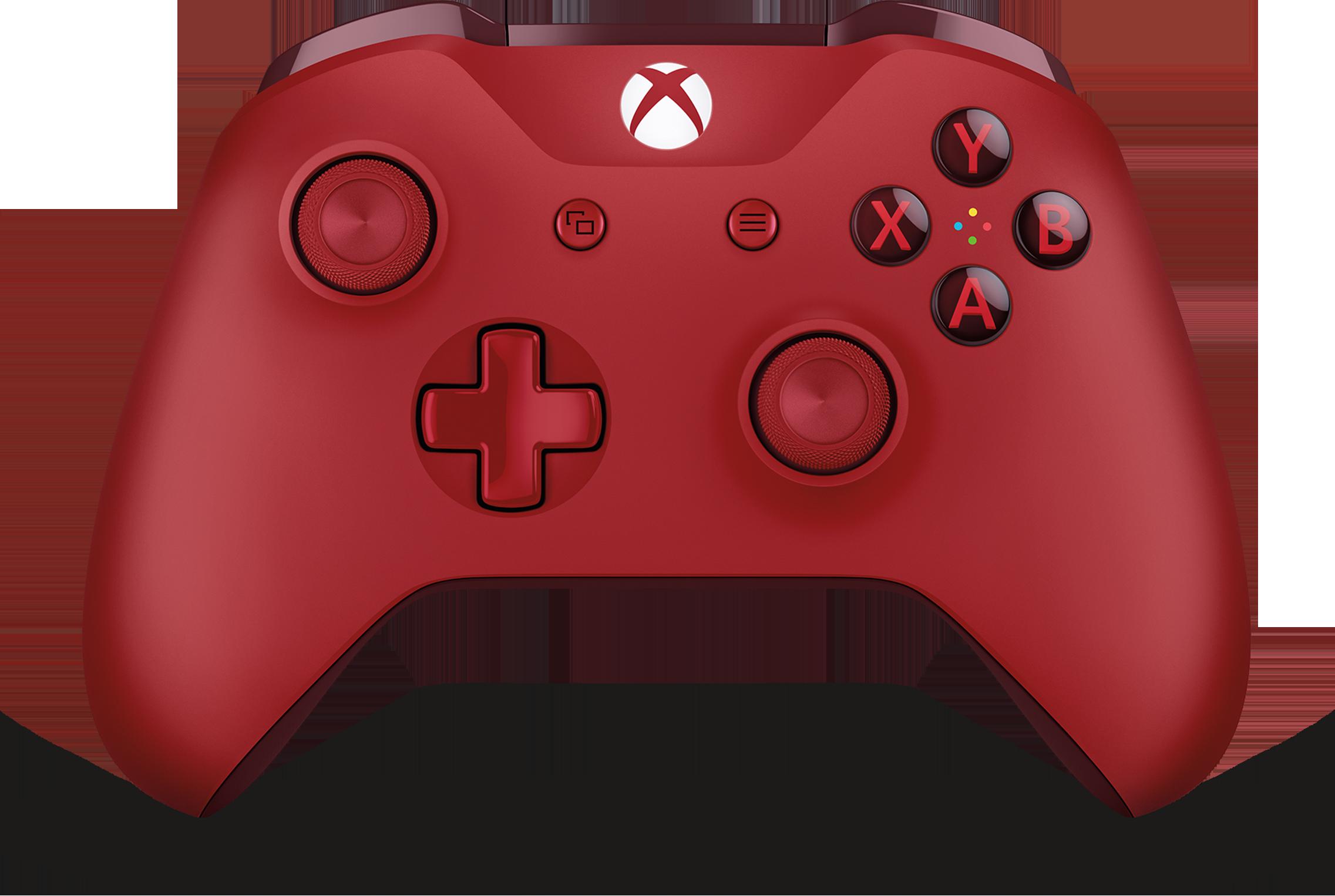 Xbox trådlös handkontroll – röd