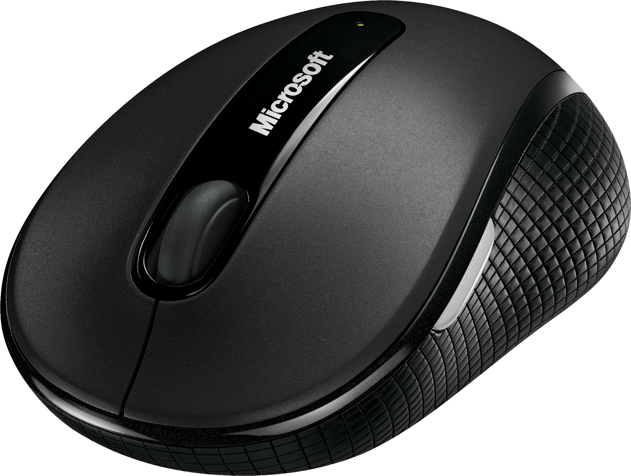 Wireless Mobile Mouse 4000, graphite, angled view
