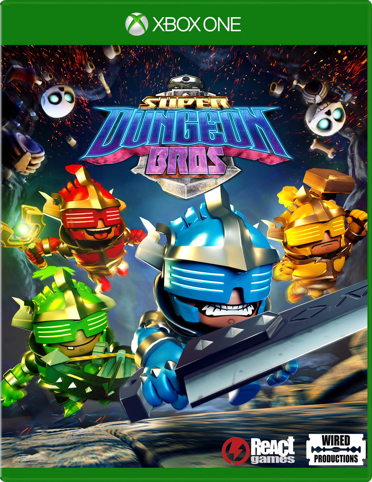 Super Dungeon Bros for Xbox One
