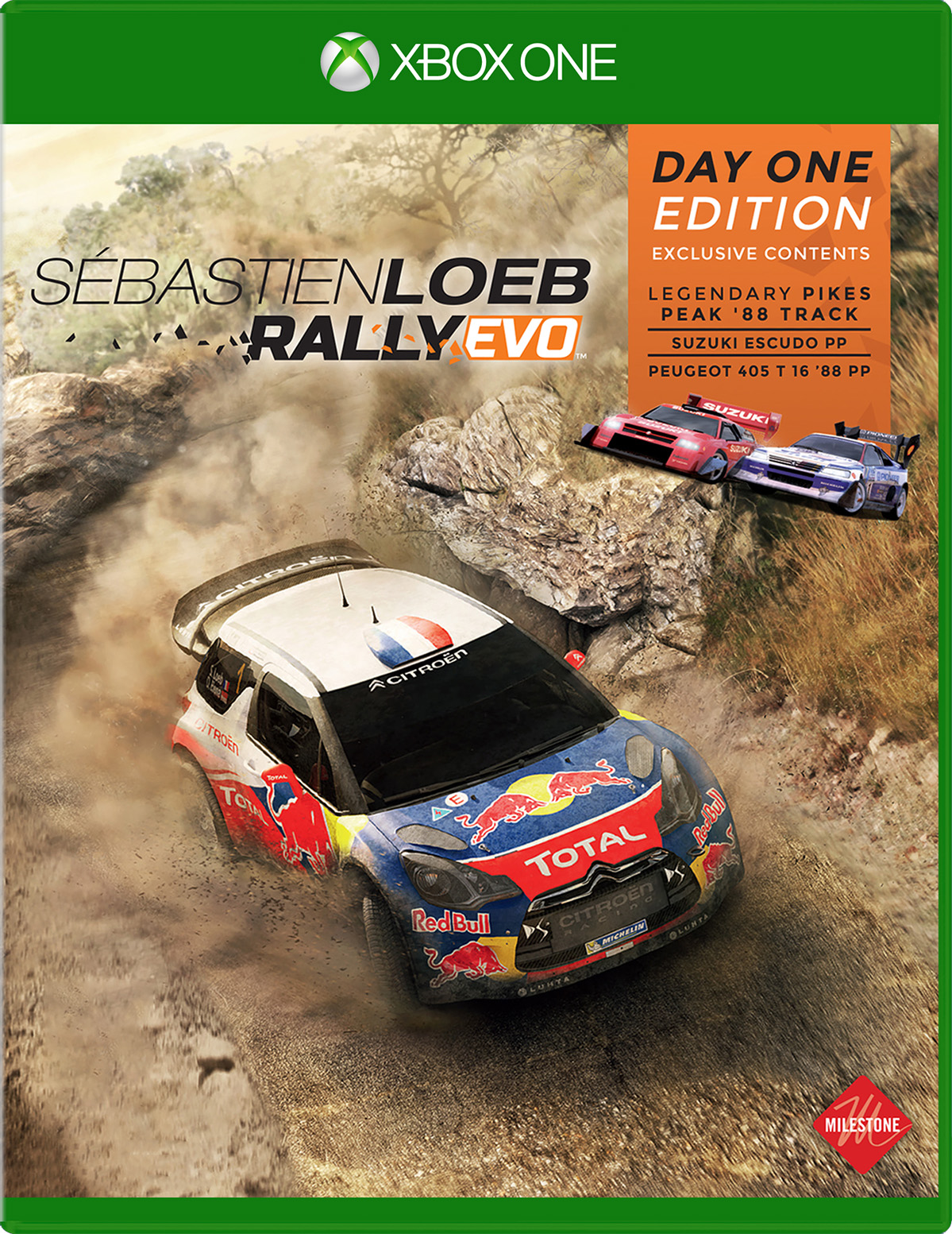 Sebastien Loeb Rally Evo Day One Edition For Xbox One